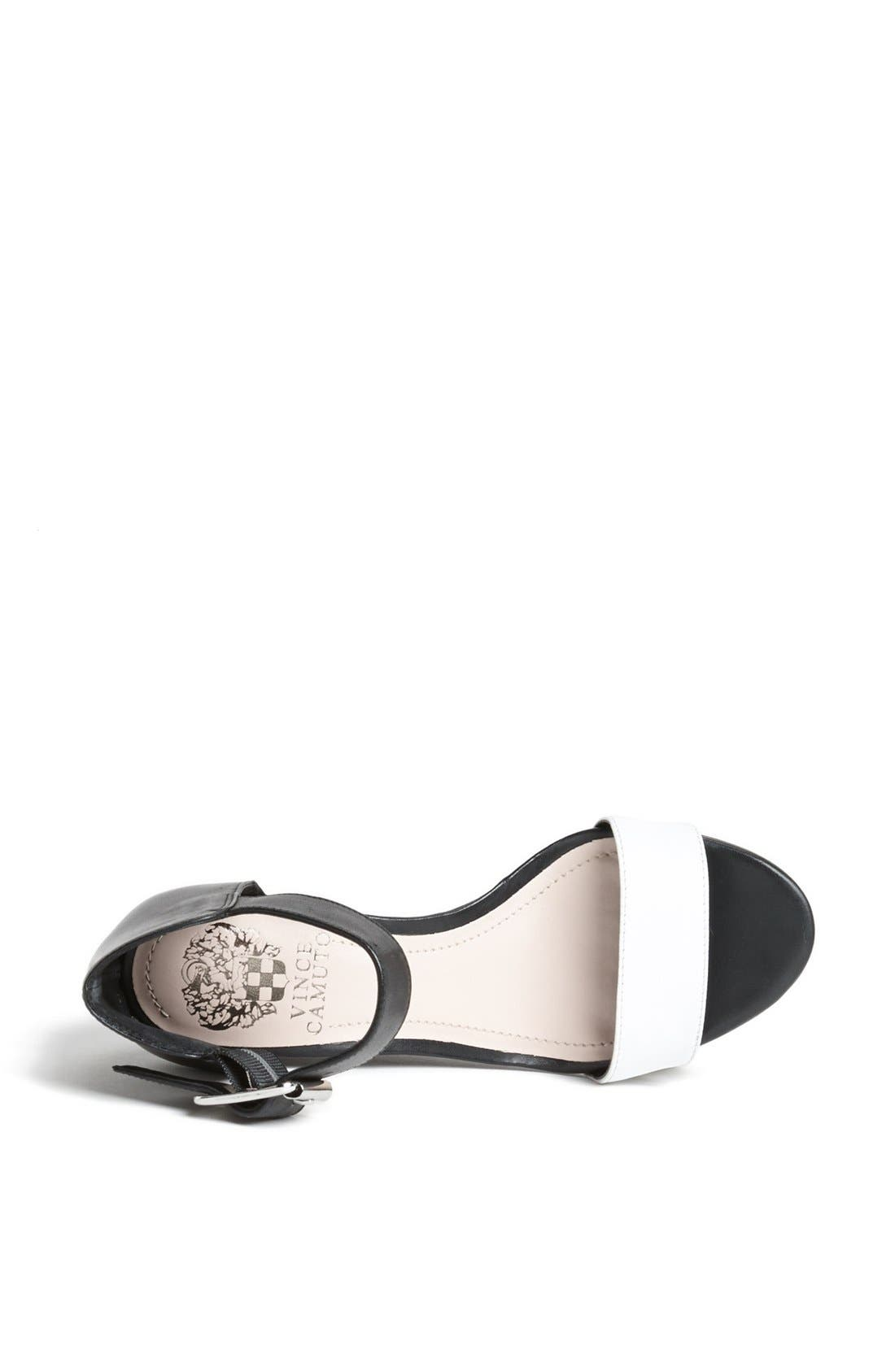 Alternate Image 3  - Vince Camuto 'Luciah' Ankle Strap Wedge Sandal