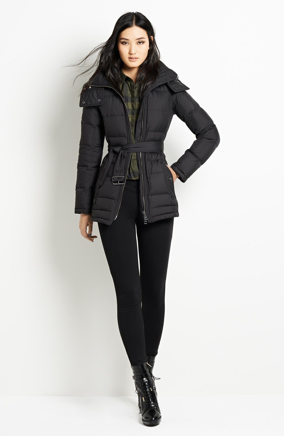 Alternate Image 5  - Burberry Brit 'Mareton' Quilted Down Jacket