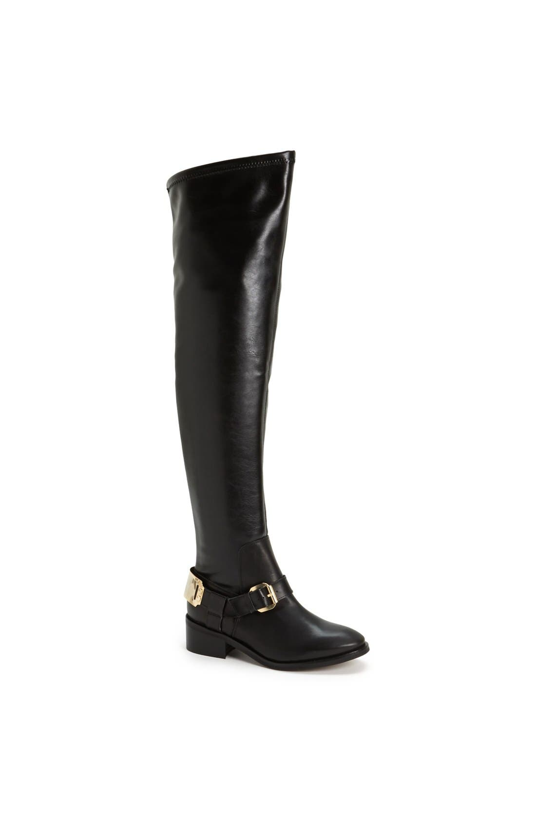 Alternate Image 1 Selected - Topshop 'Dazzle' Over the Knee Boot