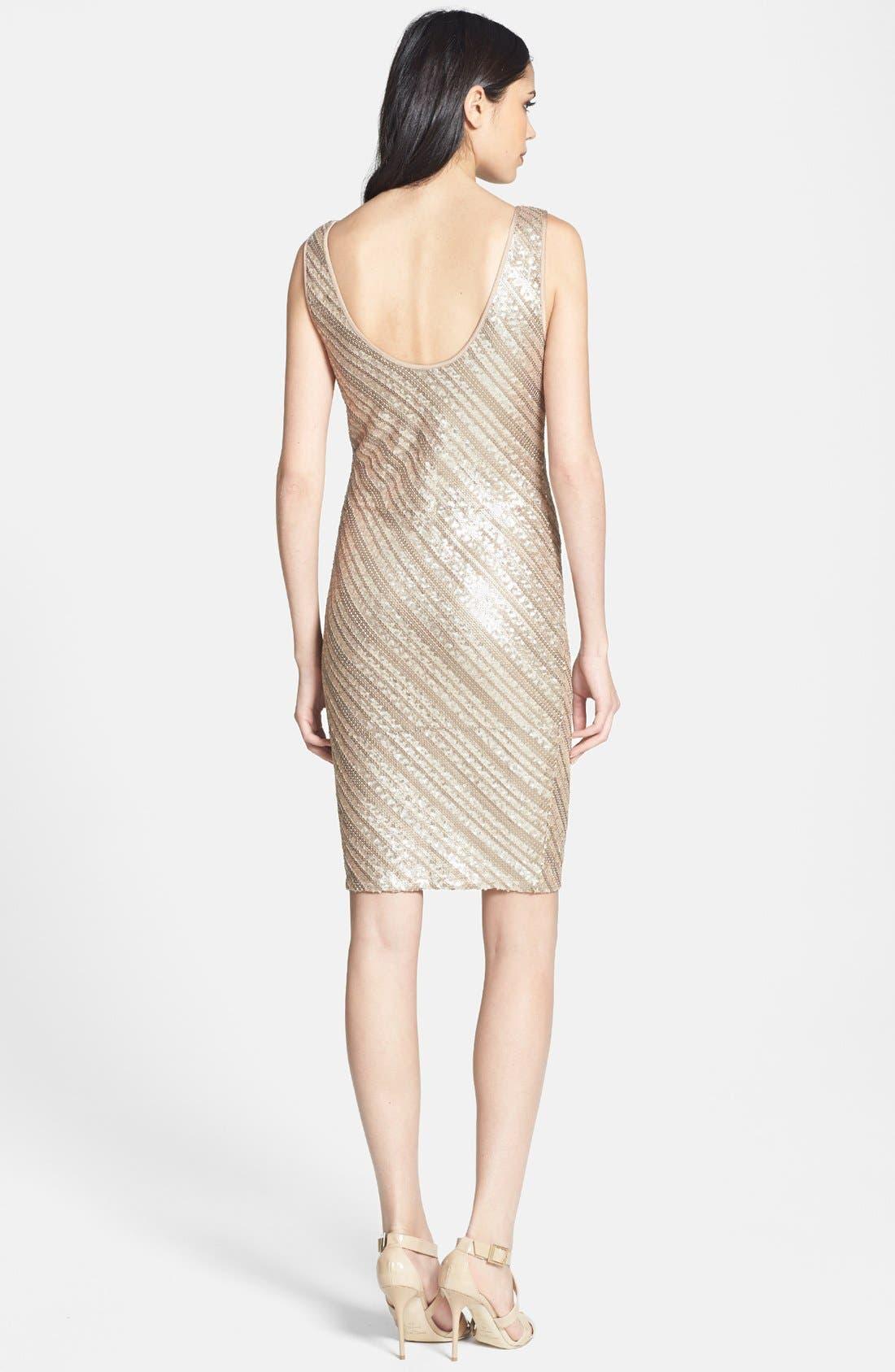 Alternate Image 2  - Tart Sequin Jersey Sheath Dress