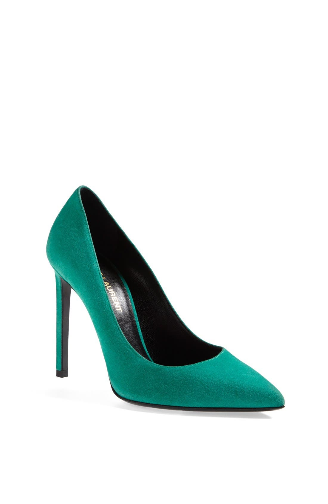 Alternate Image 1 Selected - Saint Laurent Pointy Toe Pump