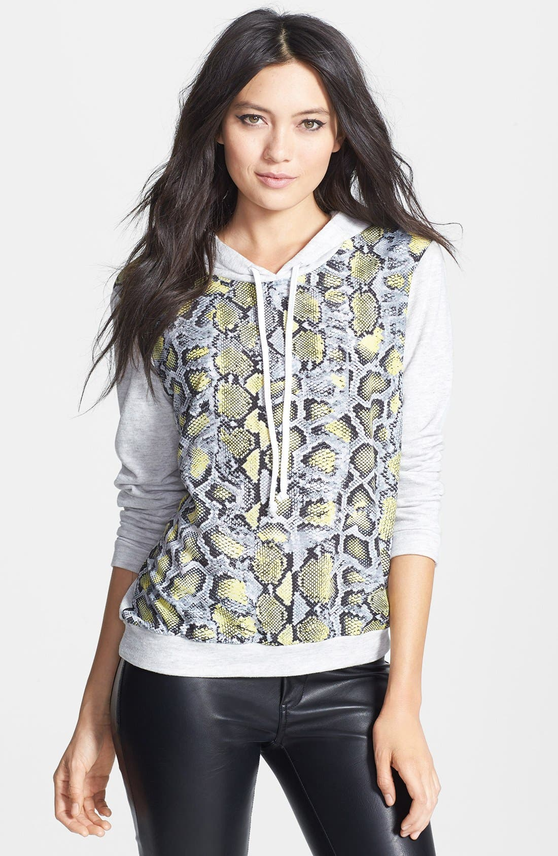 Alternate Image 1 Selected - WAYF Python Print Hoodie