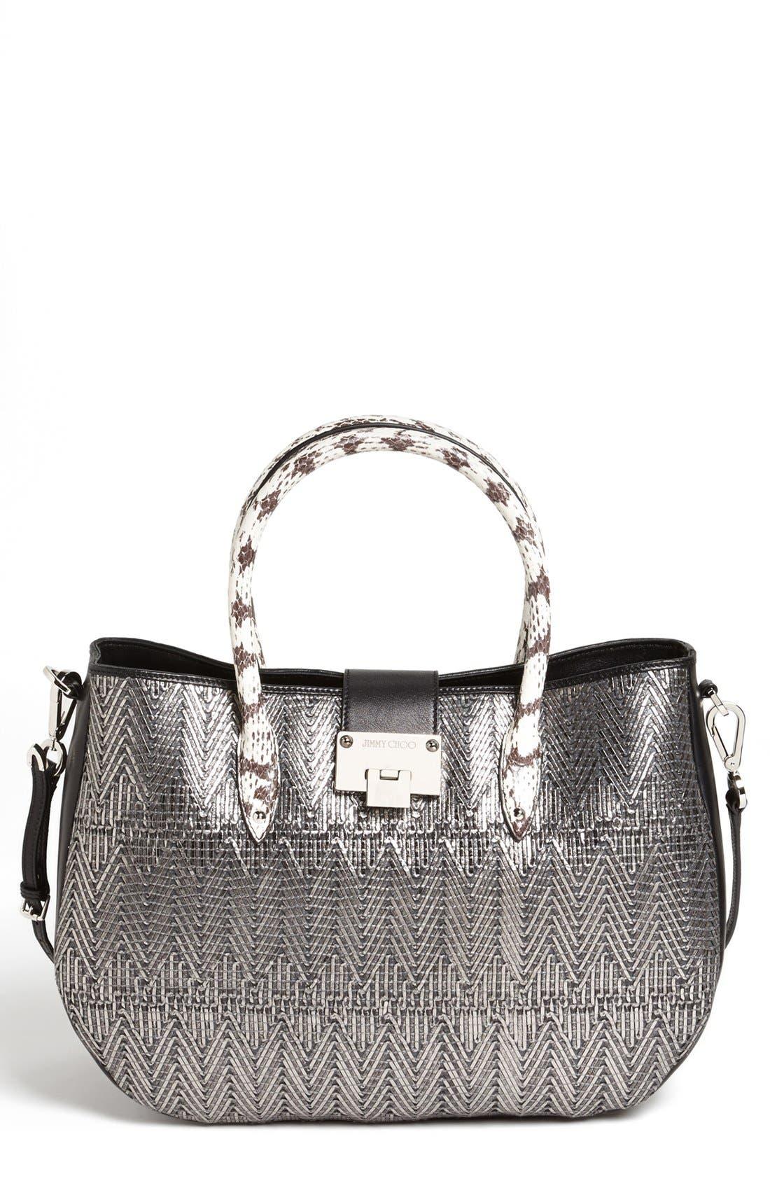 Main Image - Jimmy Choo 'Rania' Leather Satchel