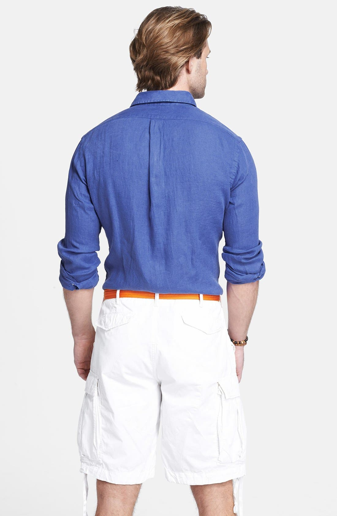 Alternate Image 2  - Polo Ralph Lauren Custom Fit Sport Shirt