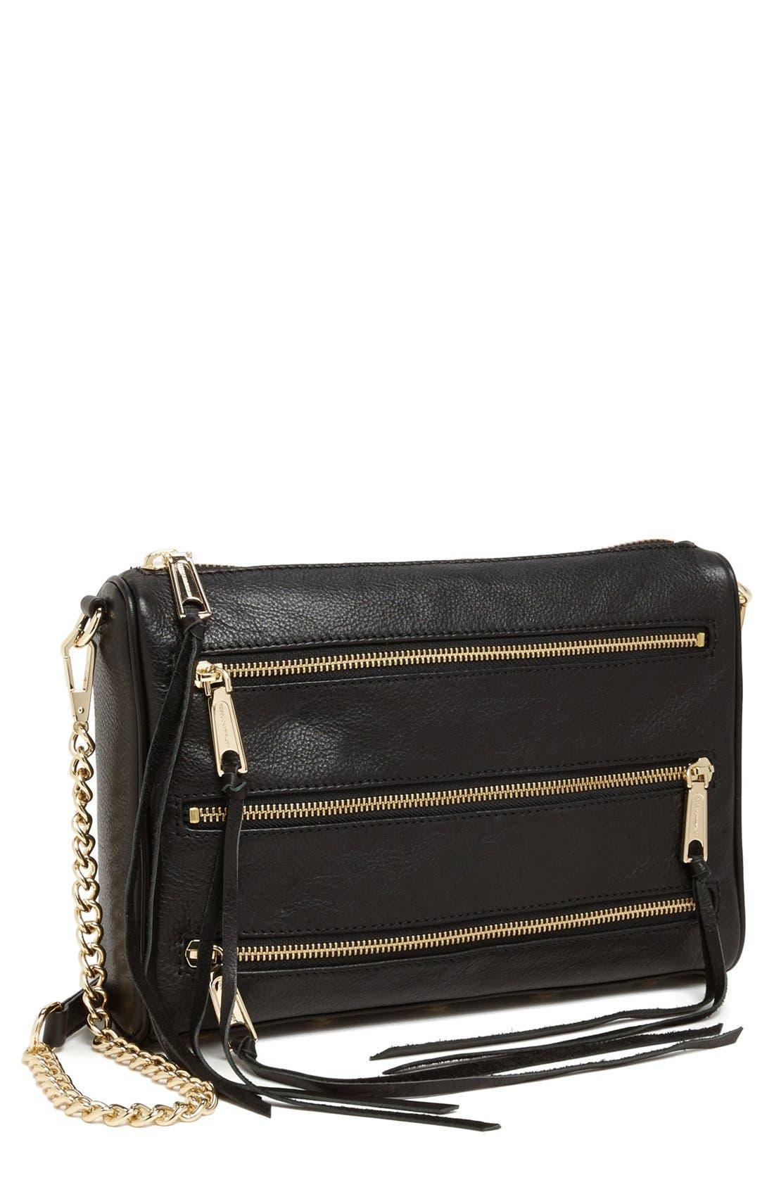Alternate Image 1 Selected - Rebecca Minkoff '5-Zip' Crossbody Bag