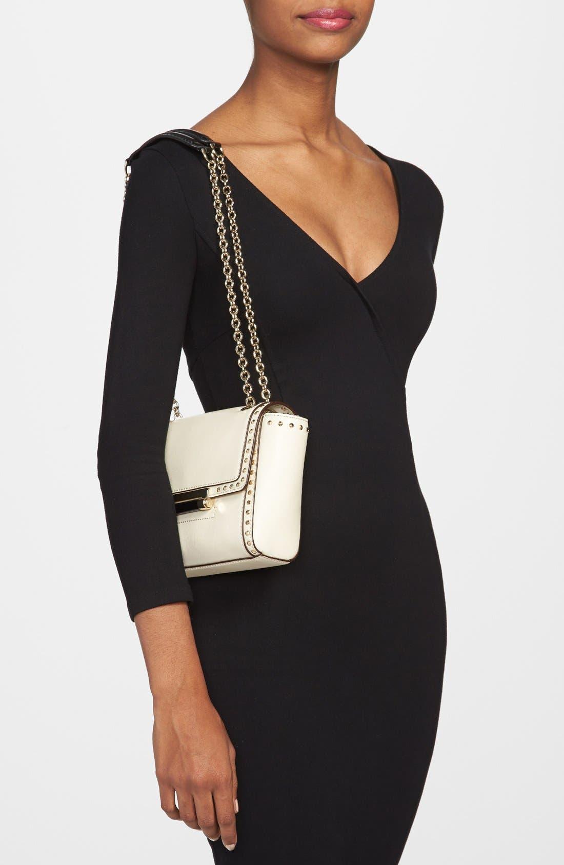 Alternate Image 2  - Diane von Furstenberg '440 - Mini' Studded Crossbody Bag