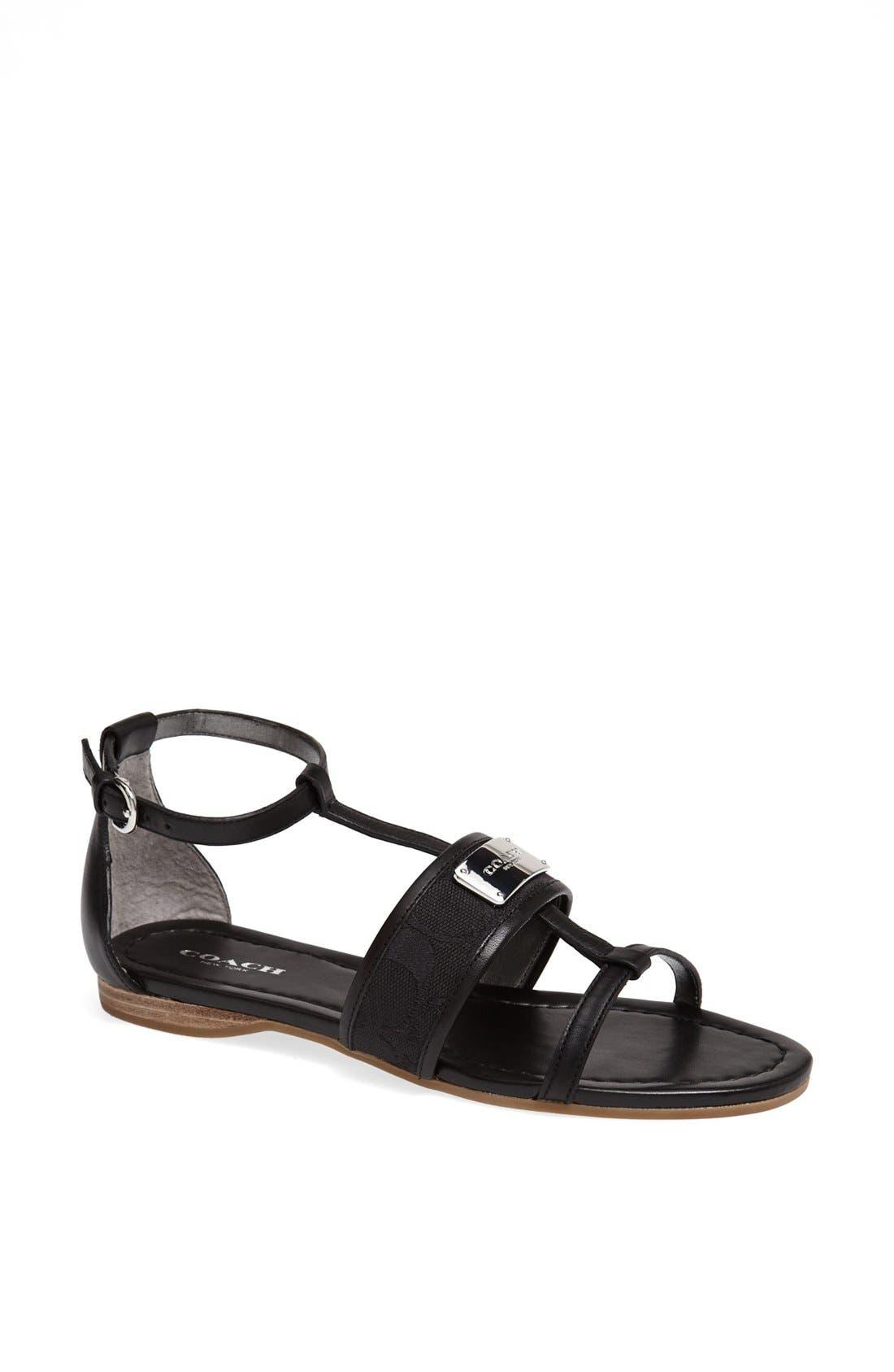 Alternate Image 1 Selected - COACH 'Harriet' Sandal