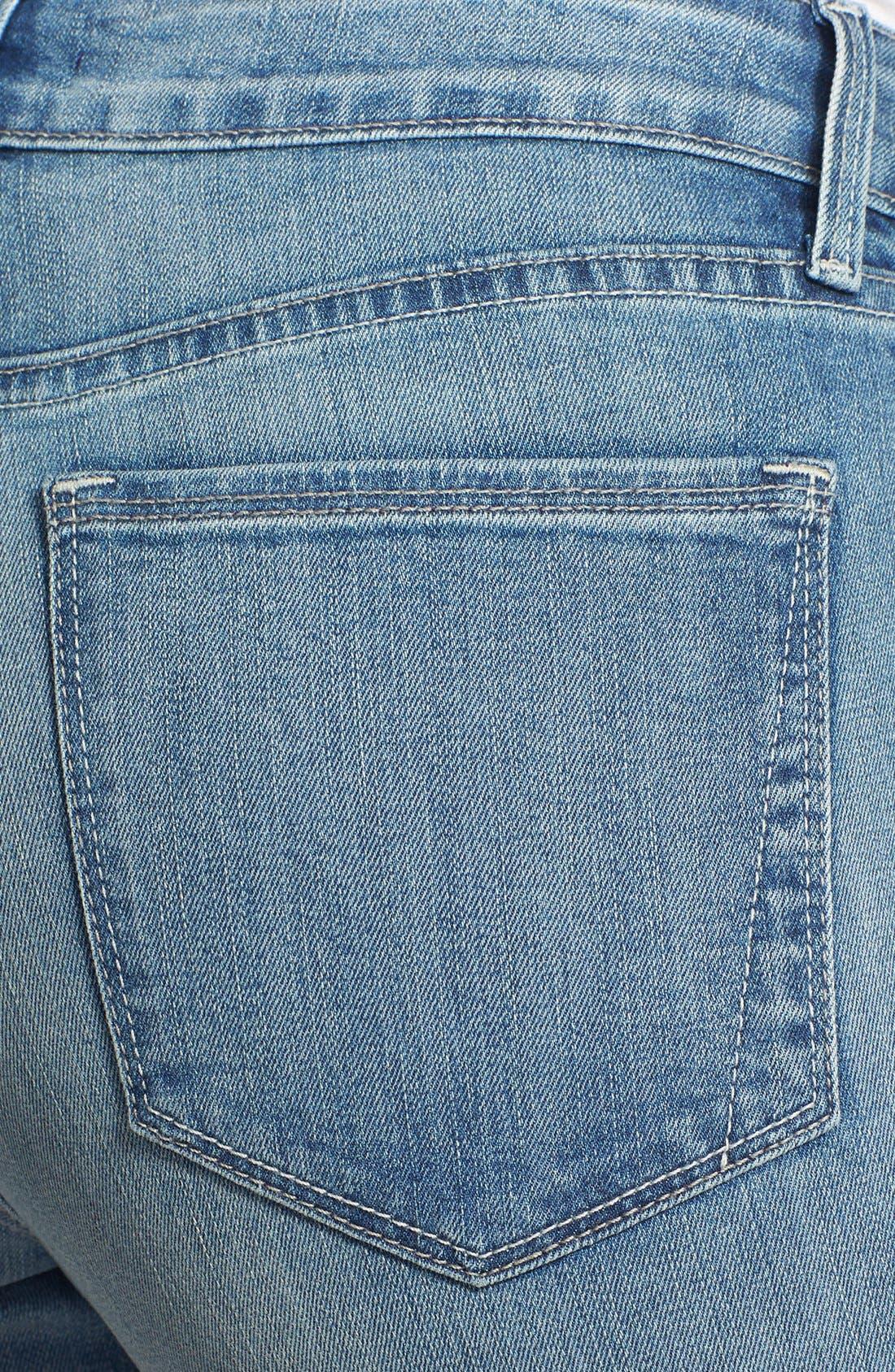 Alternate Image 3  - NYDJ 'Annalynn' Side Inset Stretch Skinny Jeans (Stockton) (Regular & Petite)