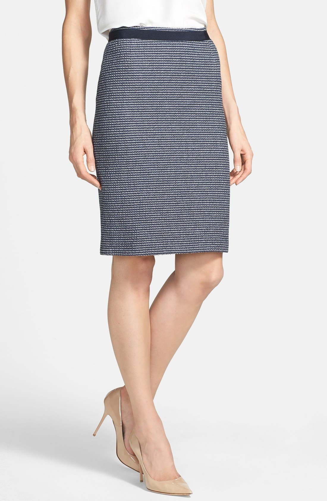 Main Image - Weekend Max Mara 'Acqua' Yarn Dyed Skirt
