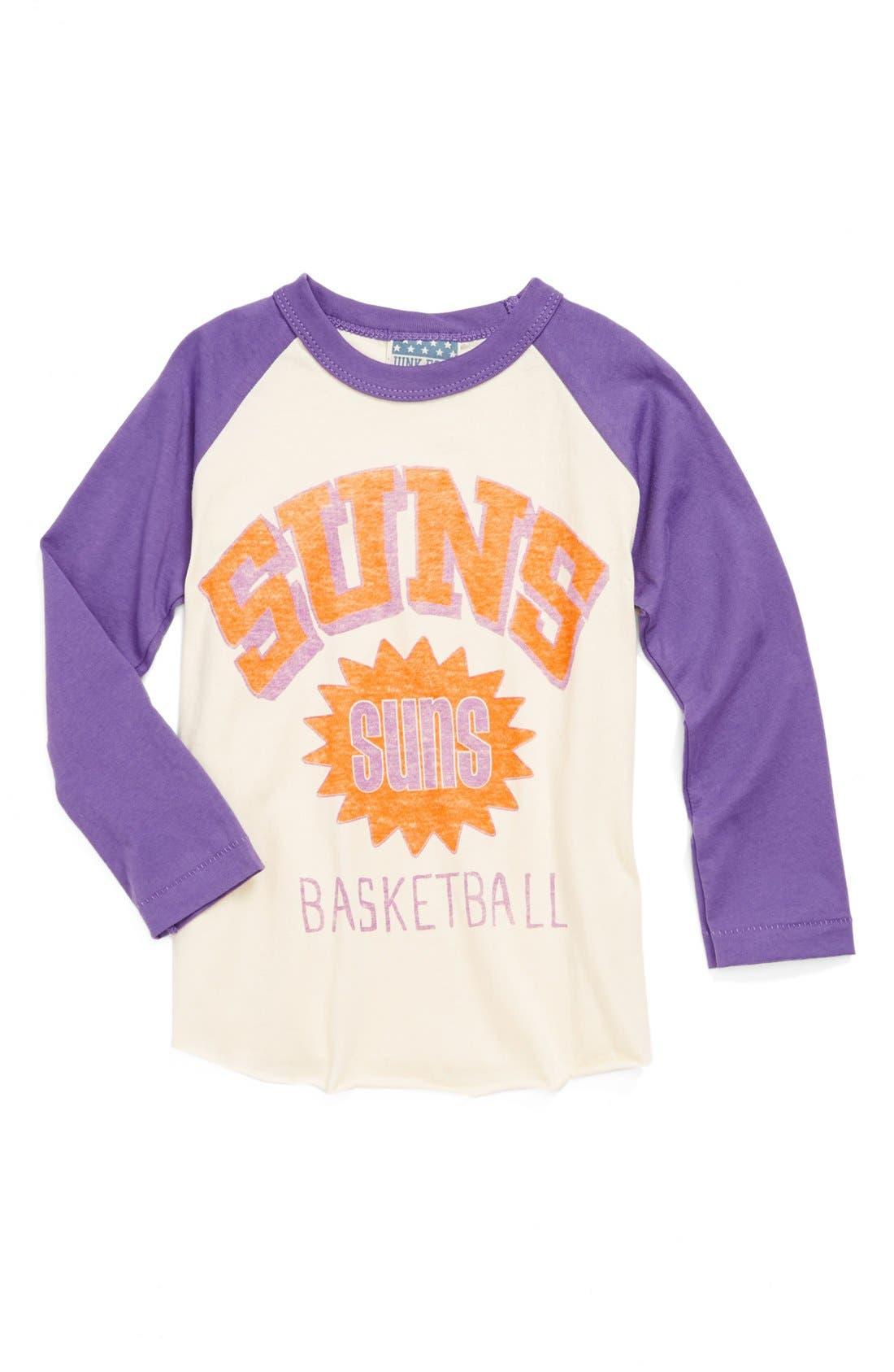 Alternate Image 1 Selected - Junk Food 'Phoenix Suns' Long Sleeve T-Shirt (Toddler Boys)