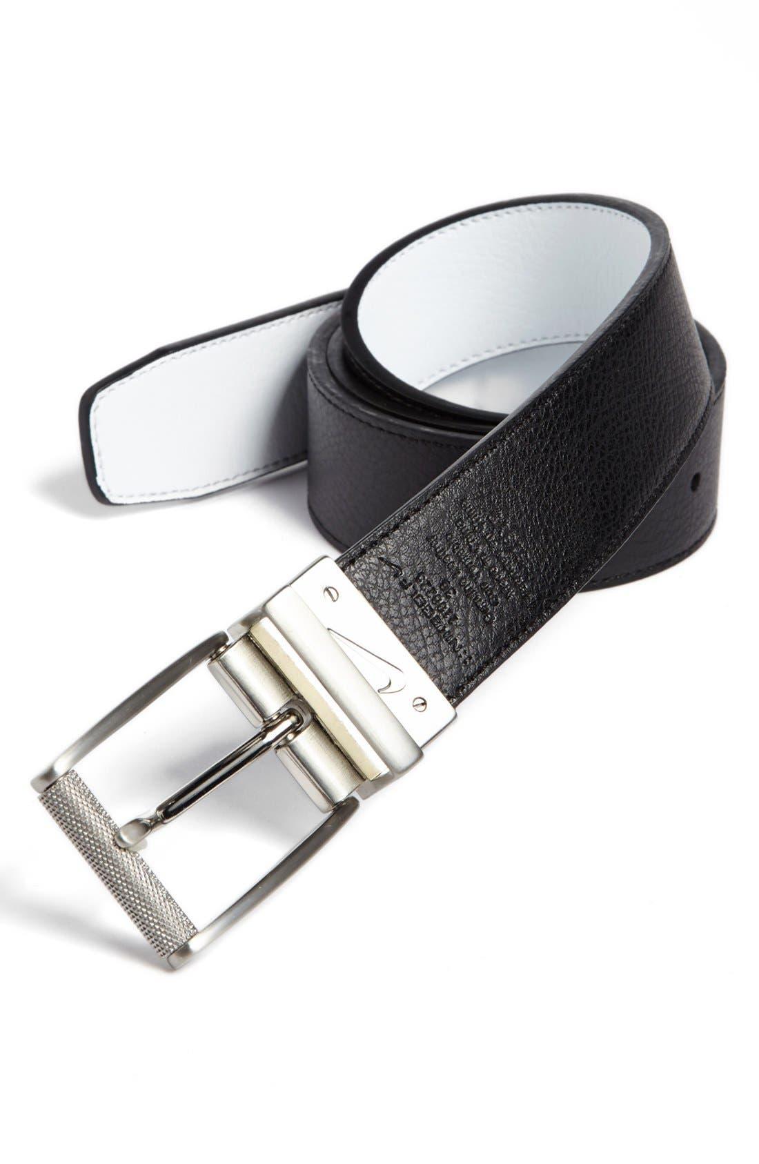 Alternate Image 1 Selected - Nike Golf Reversible Leather Belt