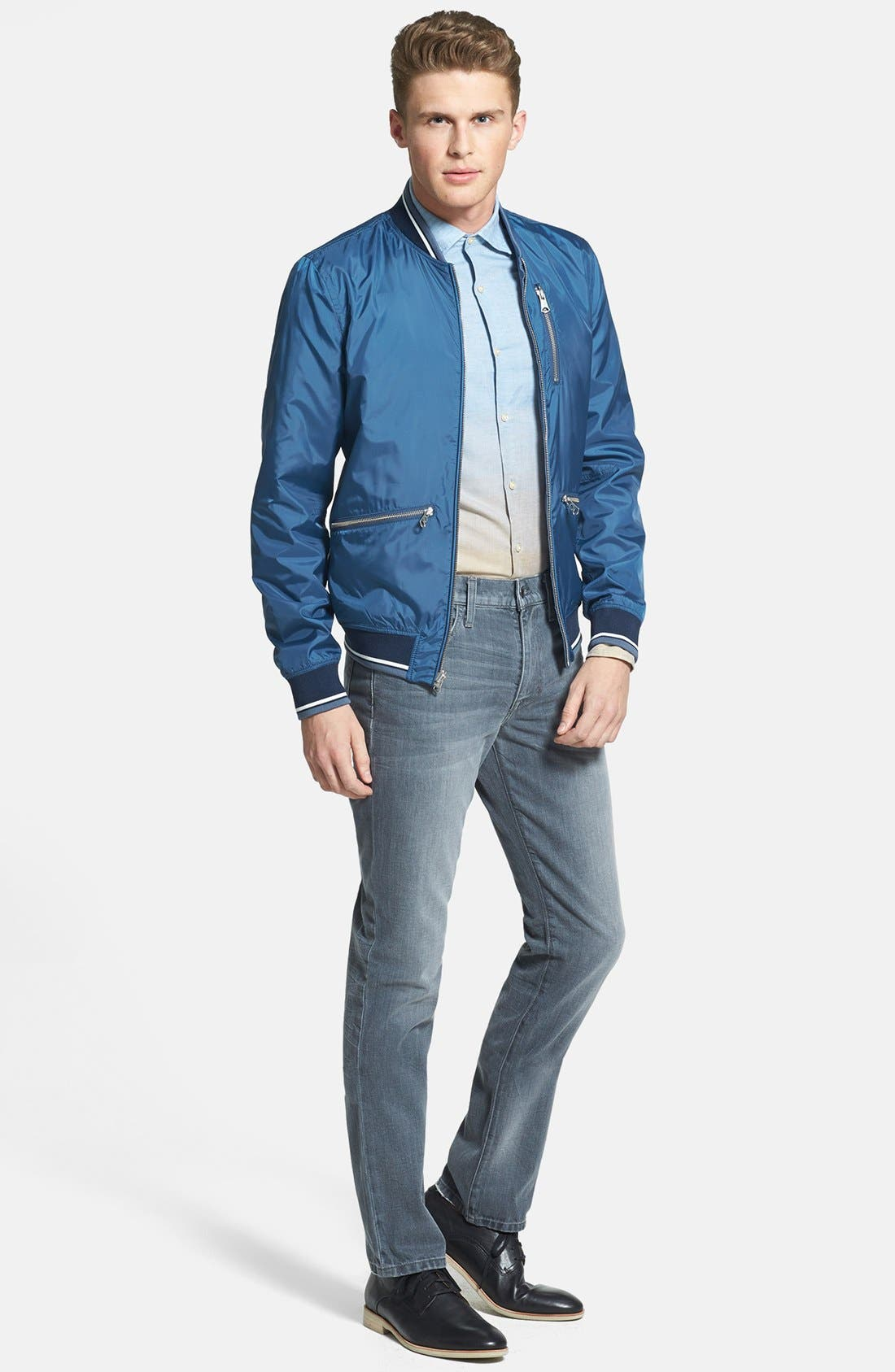 Alternate Image 4  - J. Lindeberg 'Dani 42 - Sunrise' Slim Fit Sport Shirt