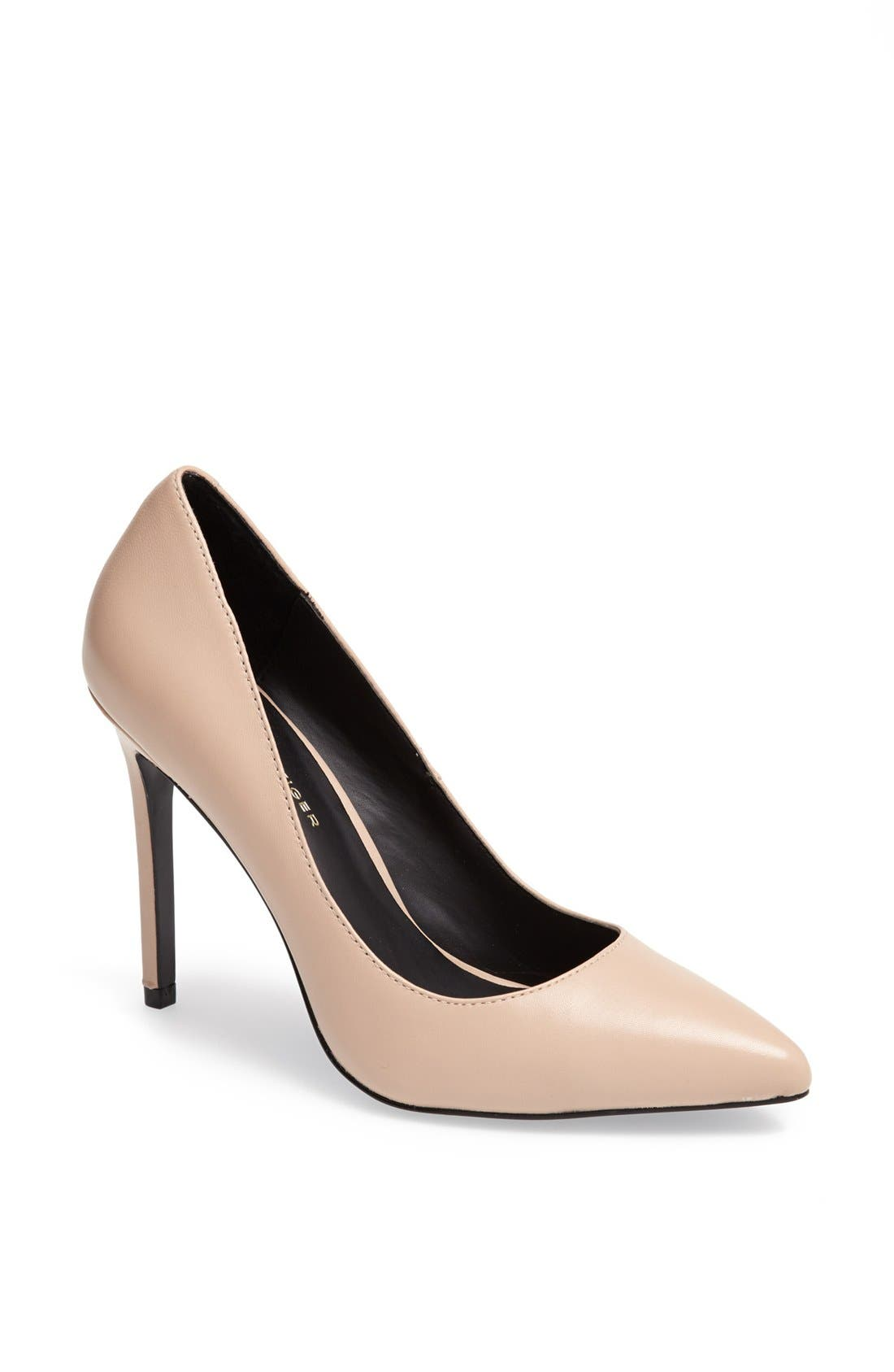 Alternate Image 1 Selected - KG Kurt Geiger 'Bailey' Leather Pump