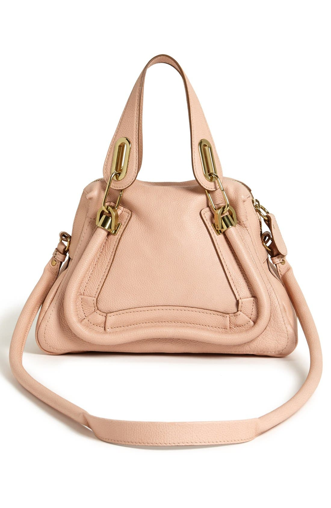 Alternate Image 4  - Chloé 'Paraty - Small' Leather Satchel
