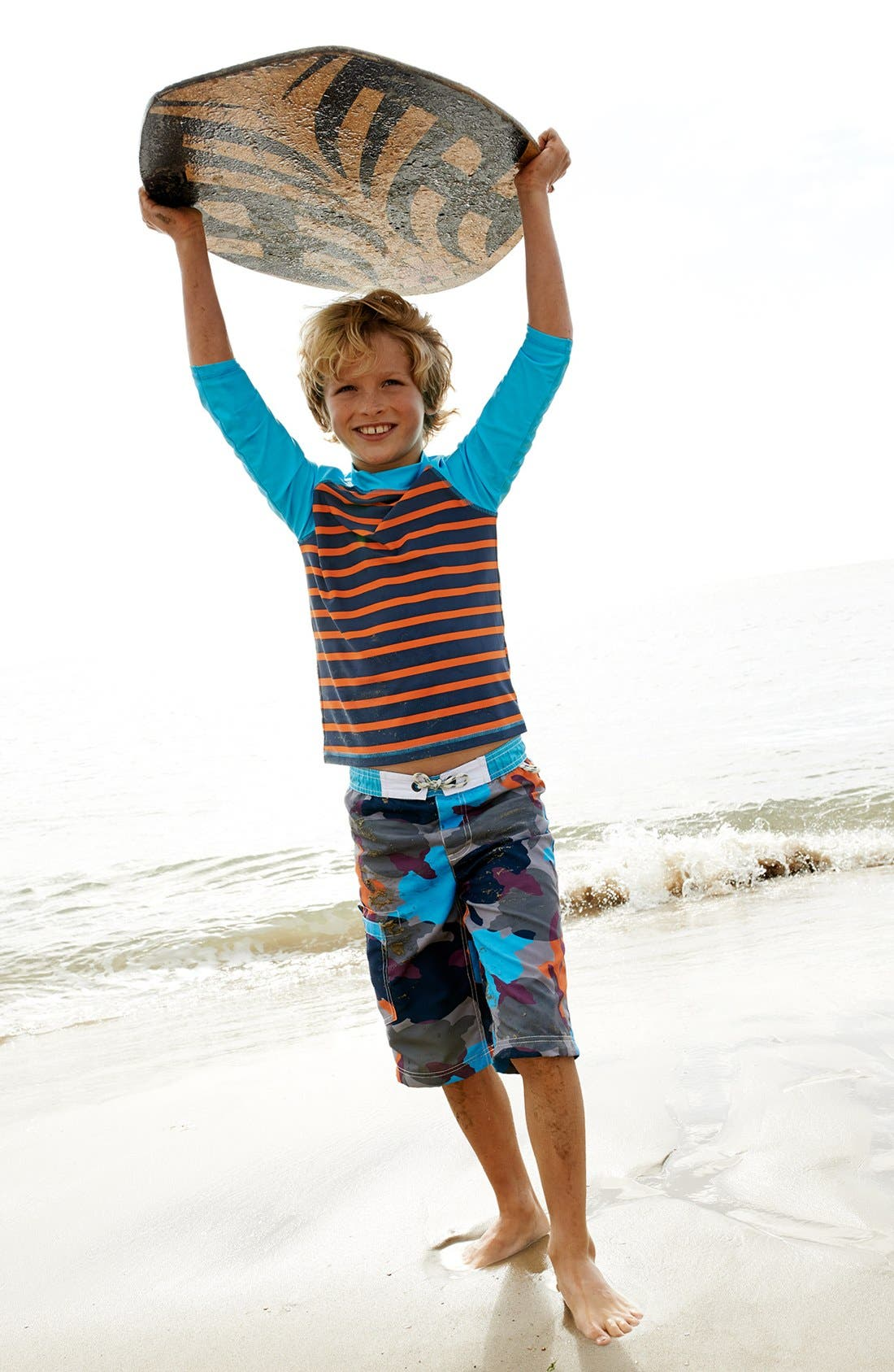 Alternate Image 2  - Mini Boden 'Surf' Shorts (Toddler Boys, Little Boys & Big Boys)