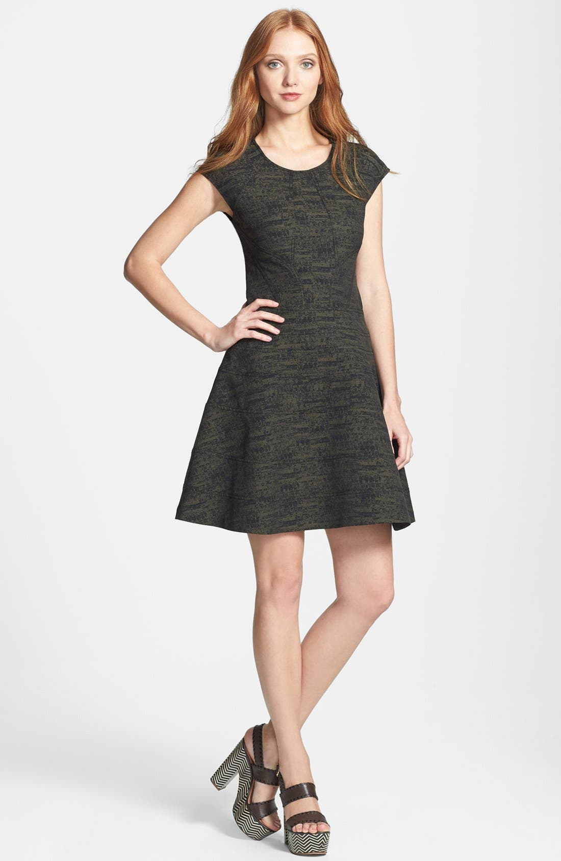 Main Image - Diane von Furstenberg 'Rebecca' Woven A-Line Dress