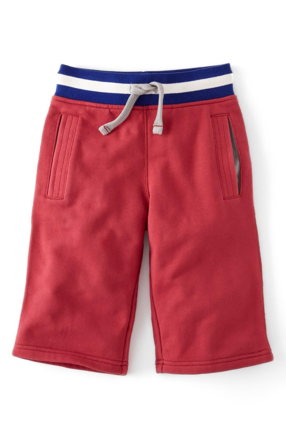 Alternate Image 1 Selected - Mini Boden Knit Shorts (Toddler Boys, Little Boys & Big Boys)
