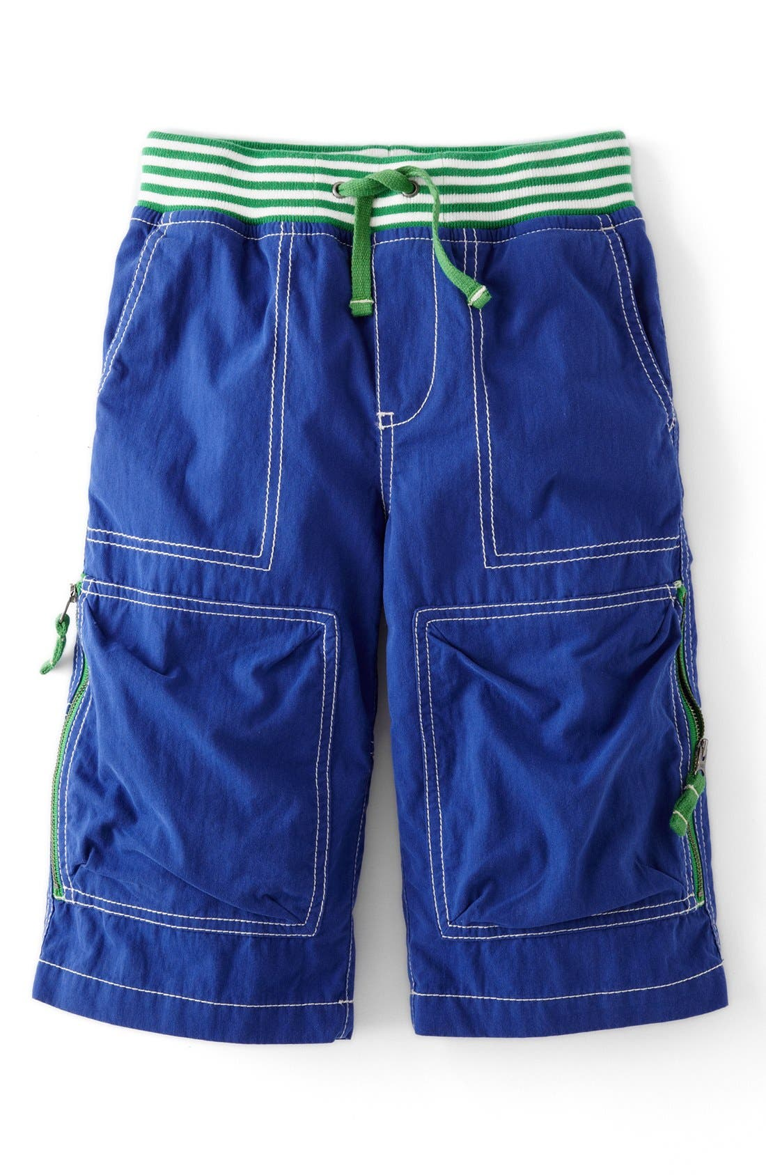 Main Image - Mini Boden 'Techno' Mid Calf Shorts (Toddler Boys)
