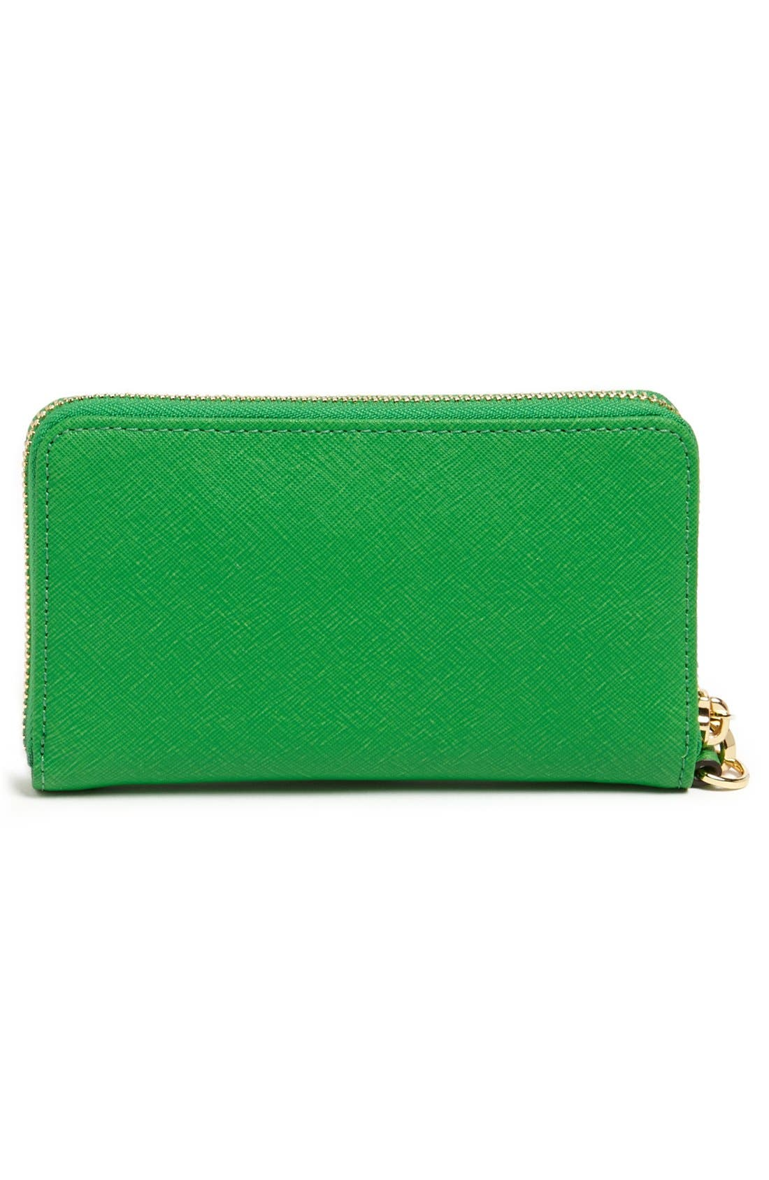 Alternate Image 3  - MICHAEL Michael Kors 'Saffiano' Phone Wallet