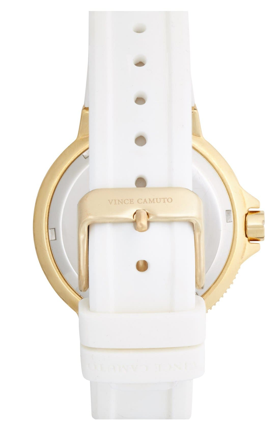 Alternate Image 2  - Vince Camuto Silicone Strap Watch, 38mm