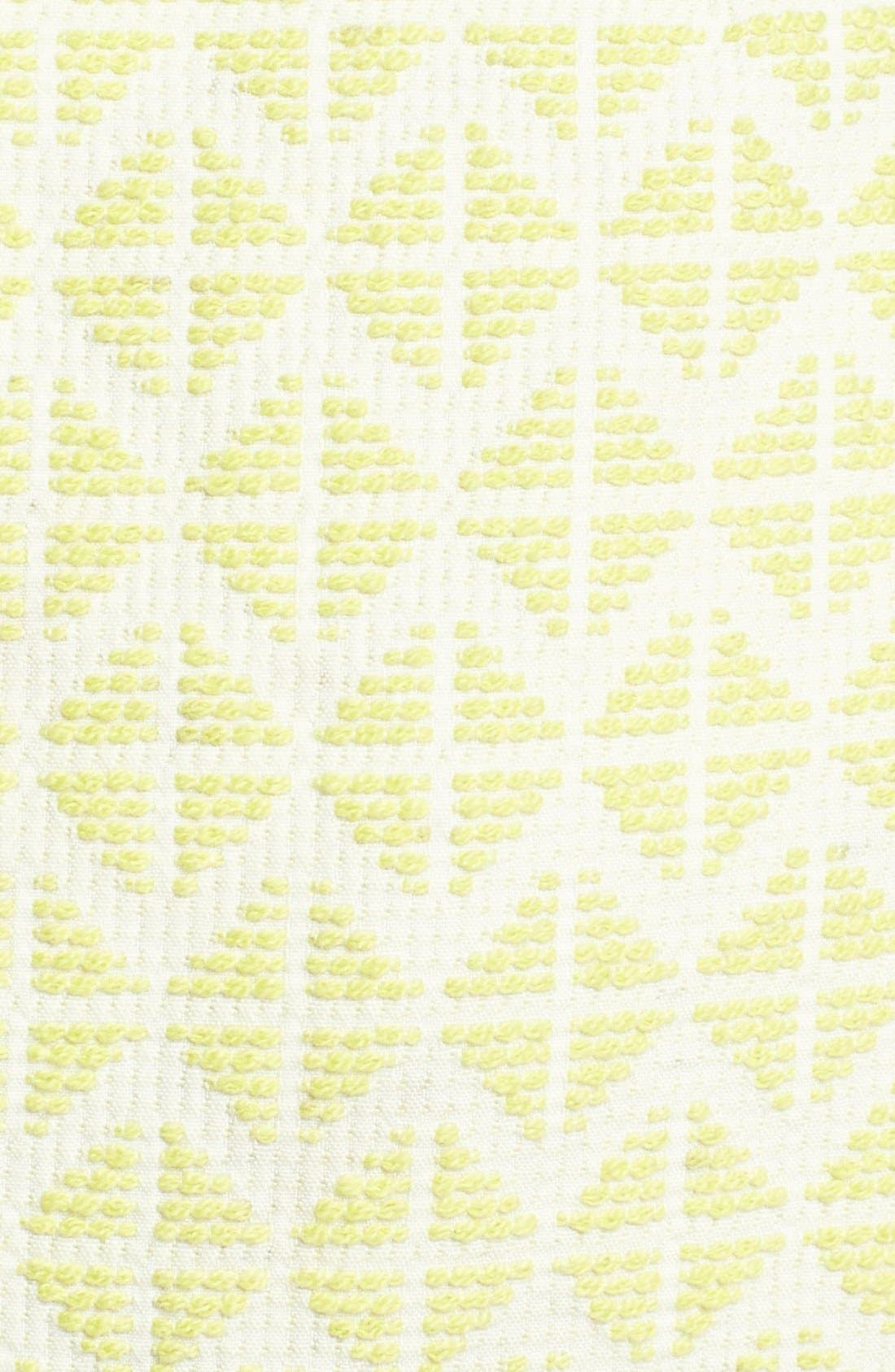 Alternate Image 3  - Halogen® Cutout Back Jacquard Dress (Regular & Petite)