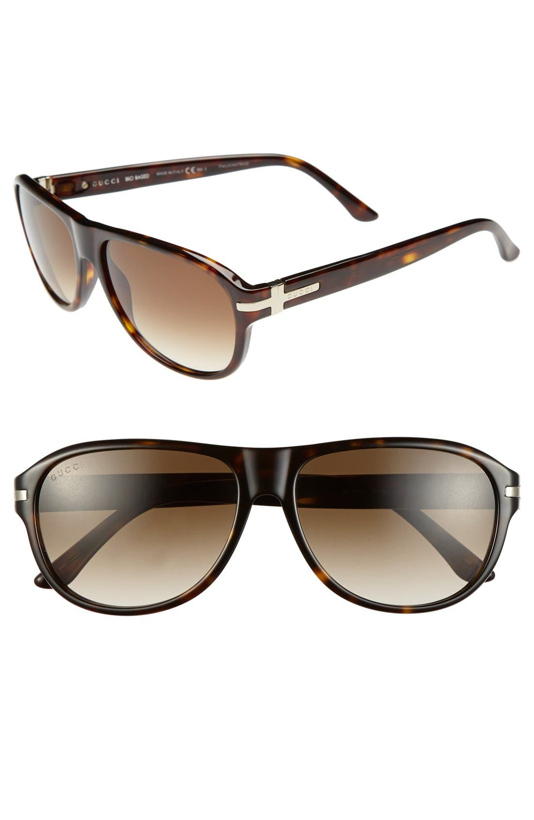 Main Image - Gucci 58mm Sunglasses
