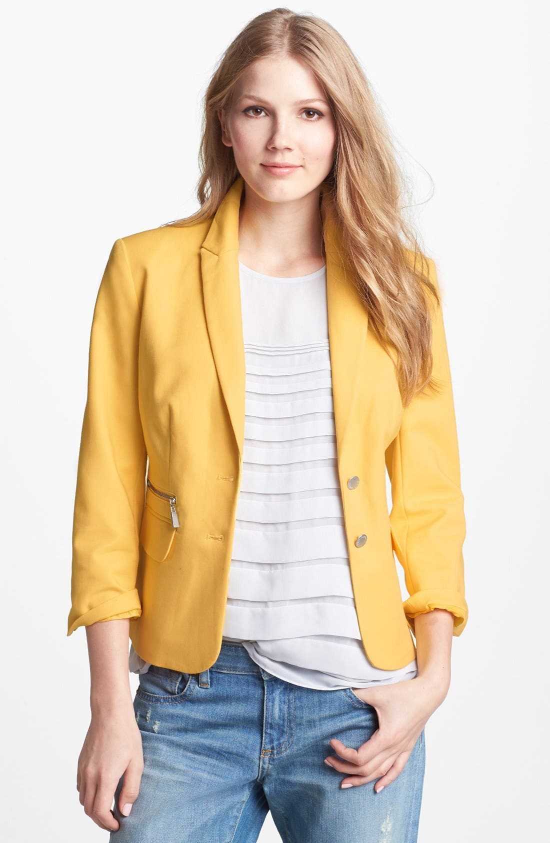 Alternate Image 1 Selected - Vince Camuto Two Button Blazer