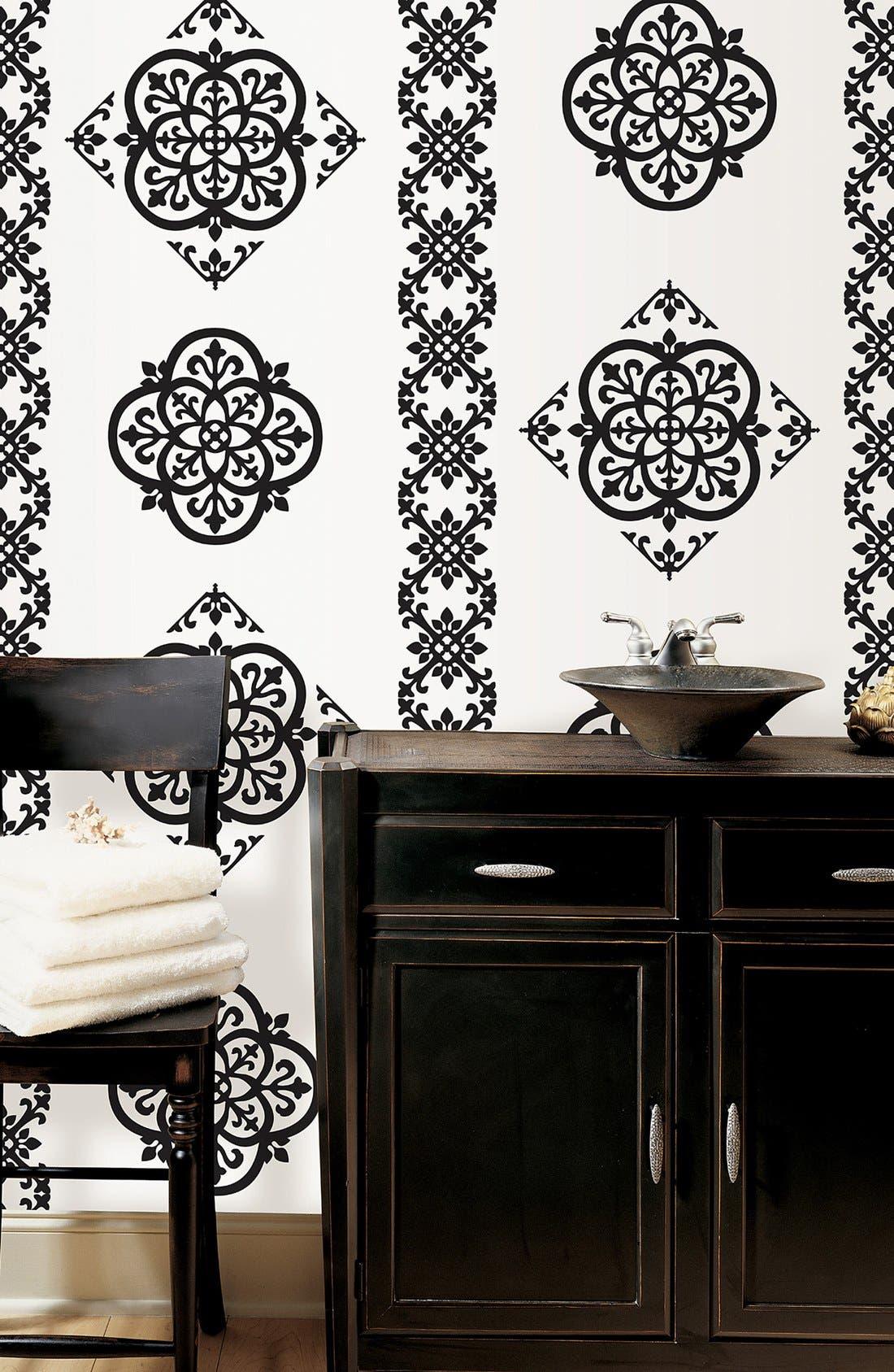 Alternate Image 1 Selected - Wallpops 'Tangier Dots, Blox & Stripes' Wall Art