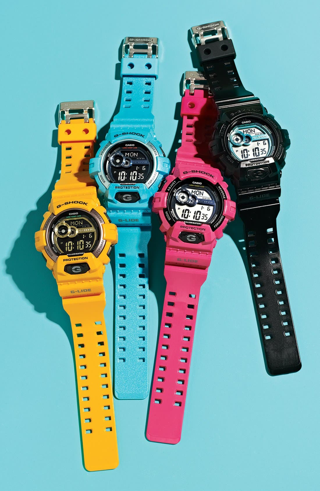 Alternate Image 4  - G-Shock 'Glide Color' Digital Watch, 55mm