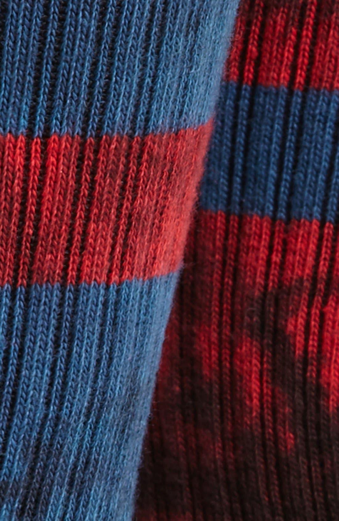 Alternate Image 2  - Stance 'Invert' Rib Crew Socks