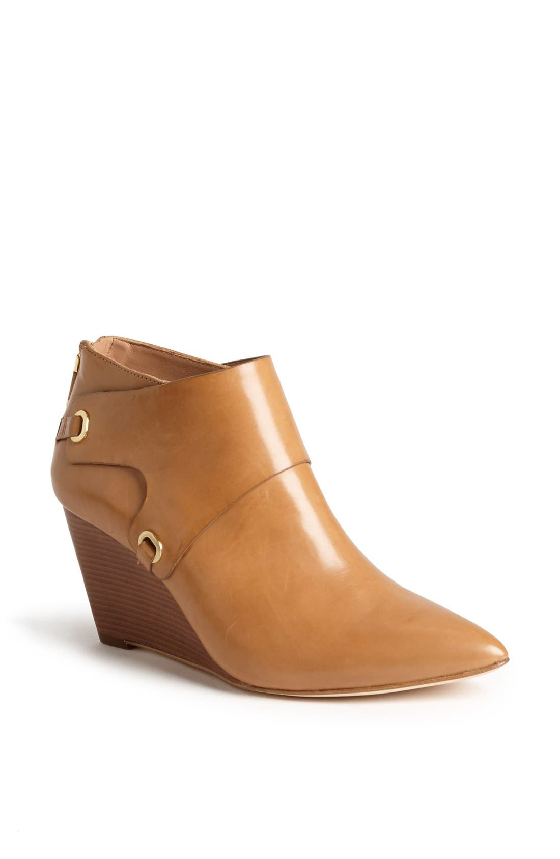 Alternate Image 1 Selected - VC Signature 'Mallorie' Leather Wedge Bootie
