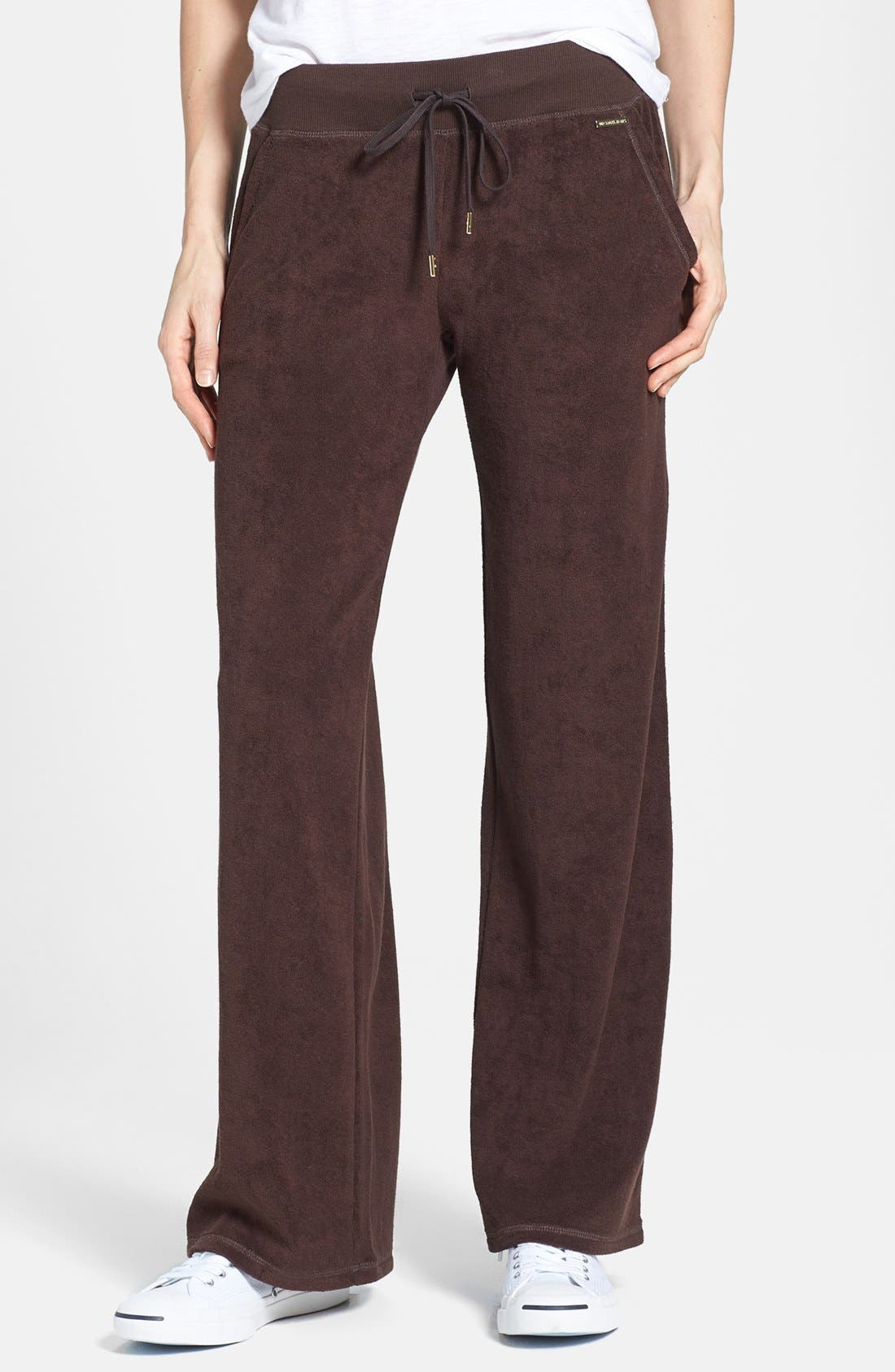 Main Image - MICHAEL Michael Kors Drawstring Waist French Terry Pants