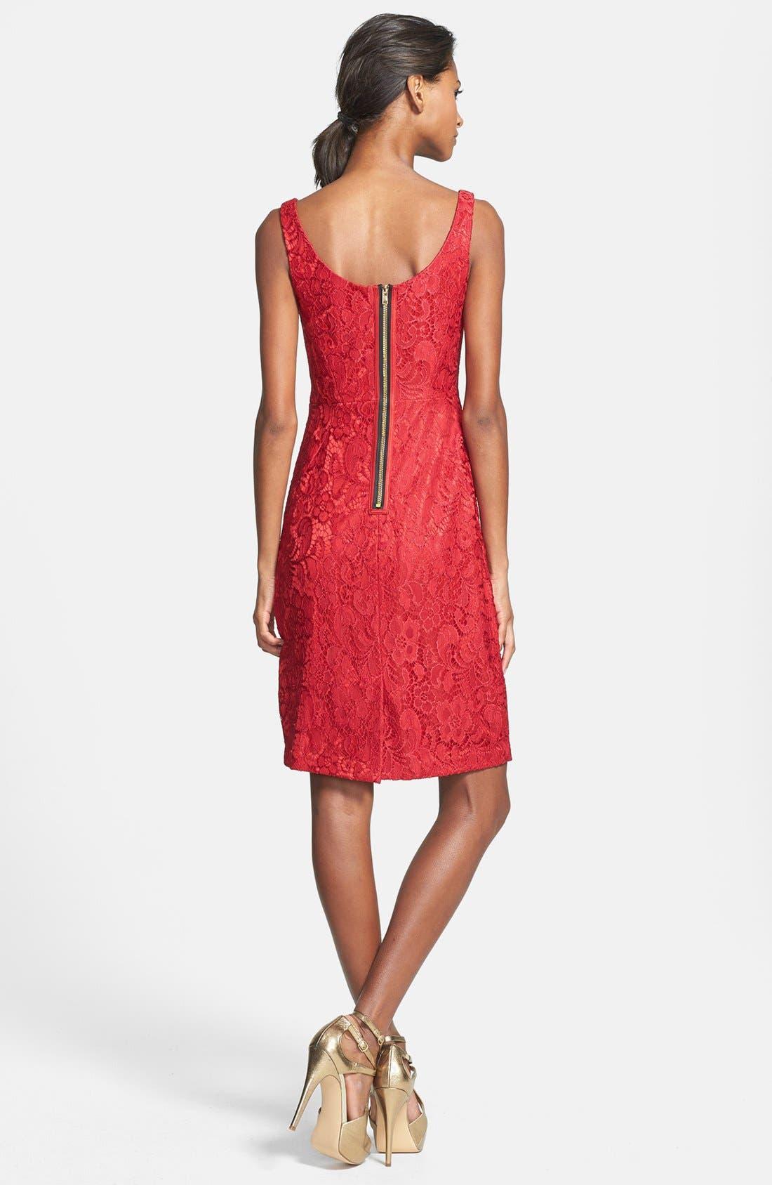 Alternate Image 3  - JAX Lace Sheath Dress