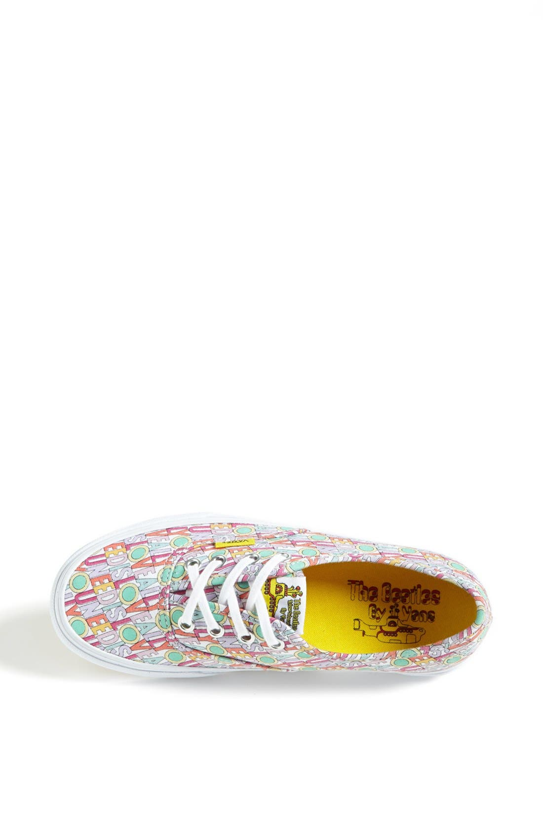 Alternate Image 3  - Vans 'Authentic - All You Need Is Love' Sneaker