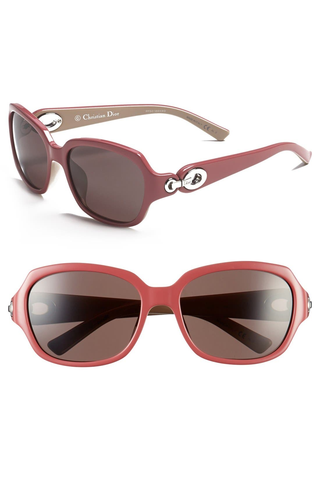 Main Image - Christian Dior 'Diorissimo 2' 56mm Sunglasses
