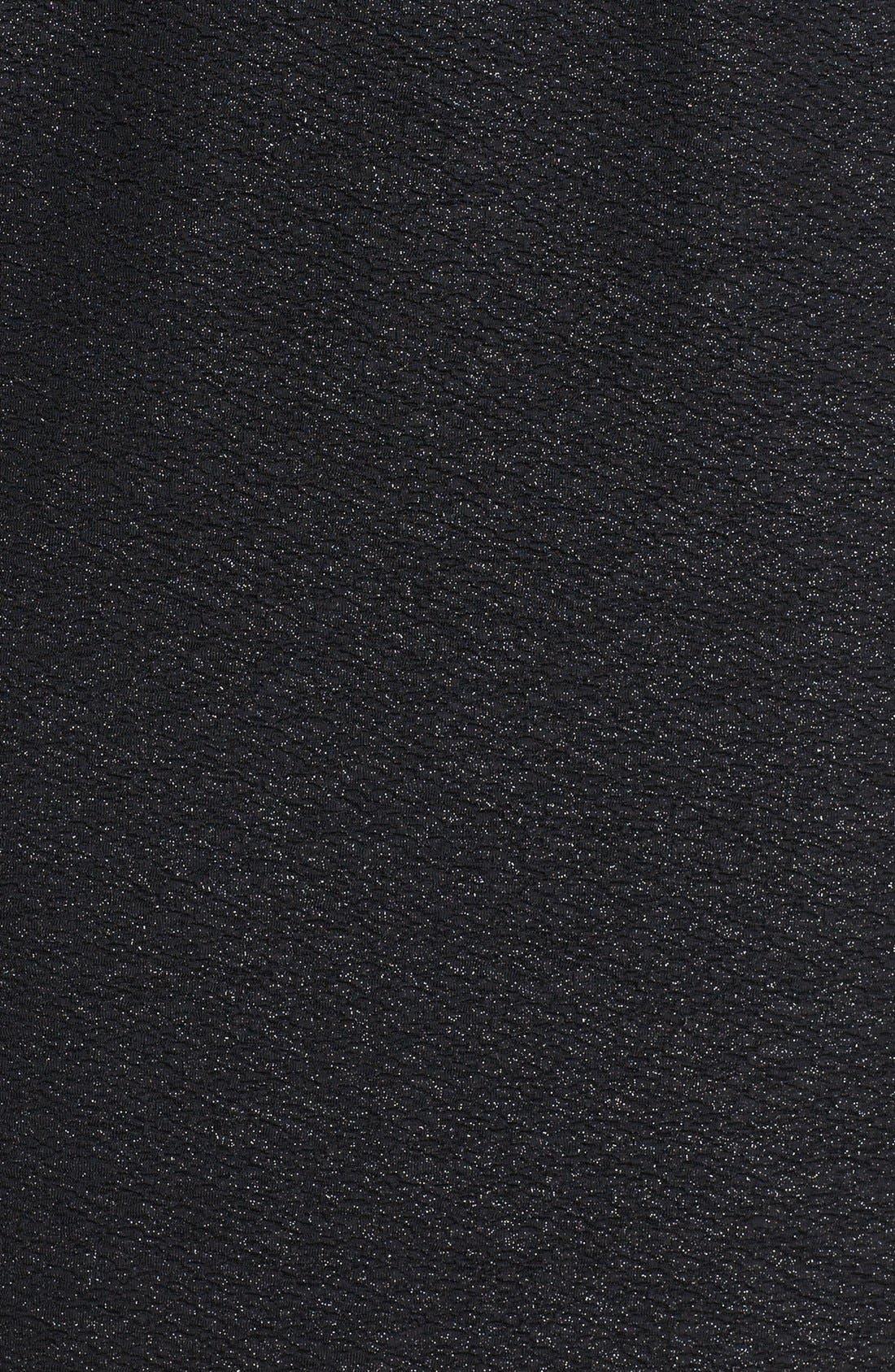 Alternate Image 3  - Marc New York by Andrew Marc Illusion Sleeve Textured Sheath Dress (Petite)