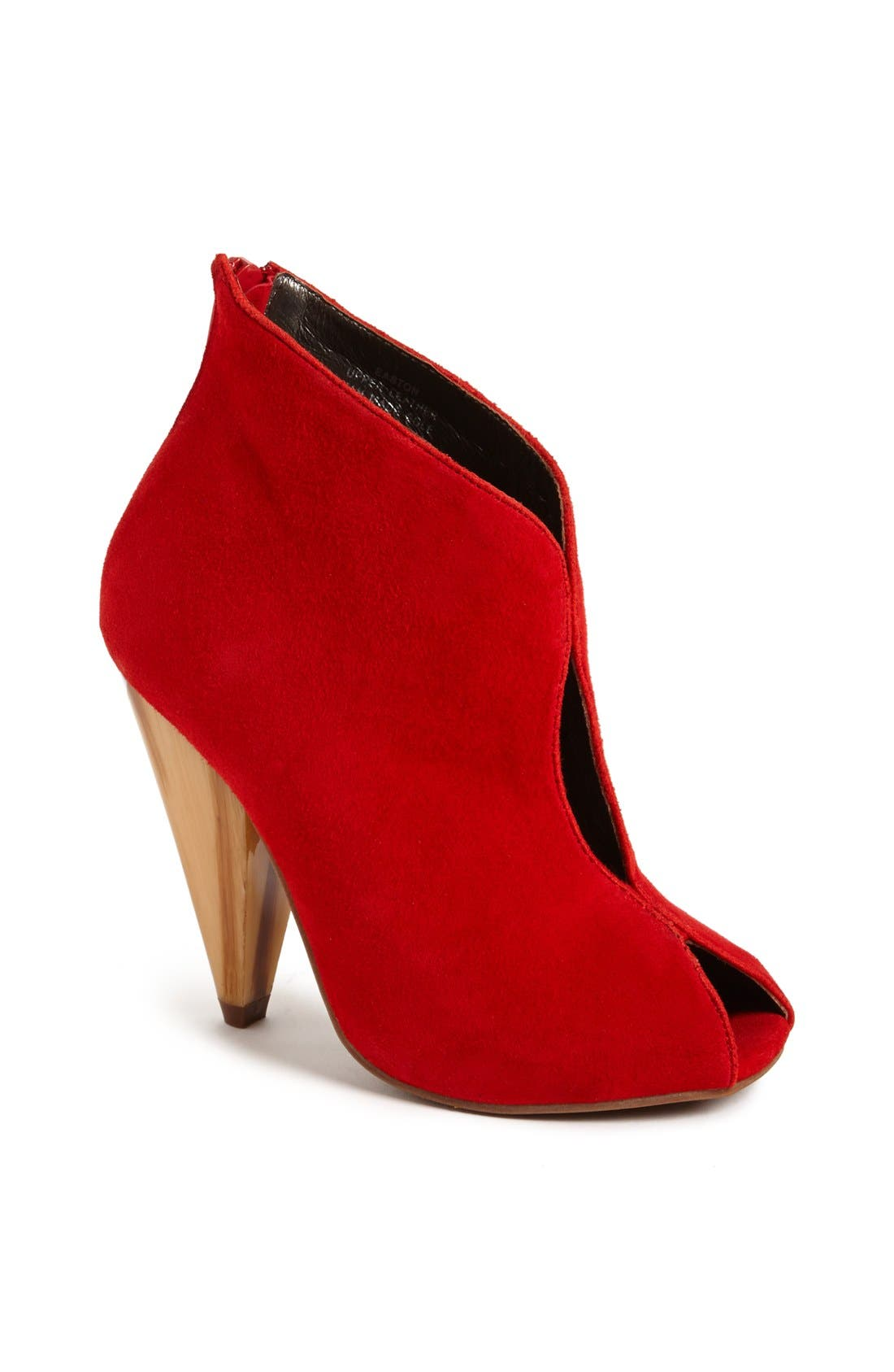 Alternate Image 1 Selected - Jeffrey Campbell 'Easton' Suede Bootie
