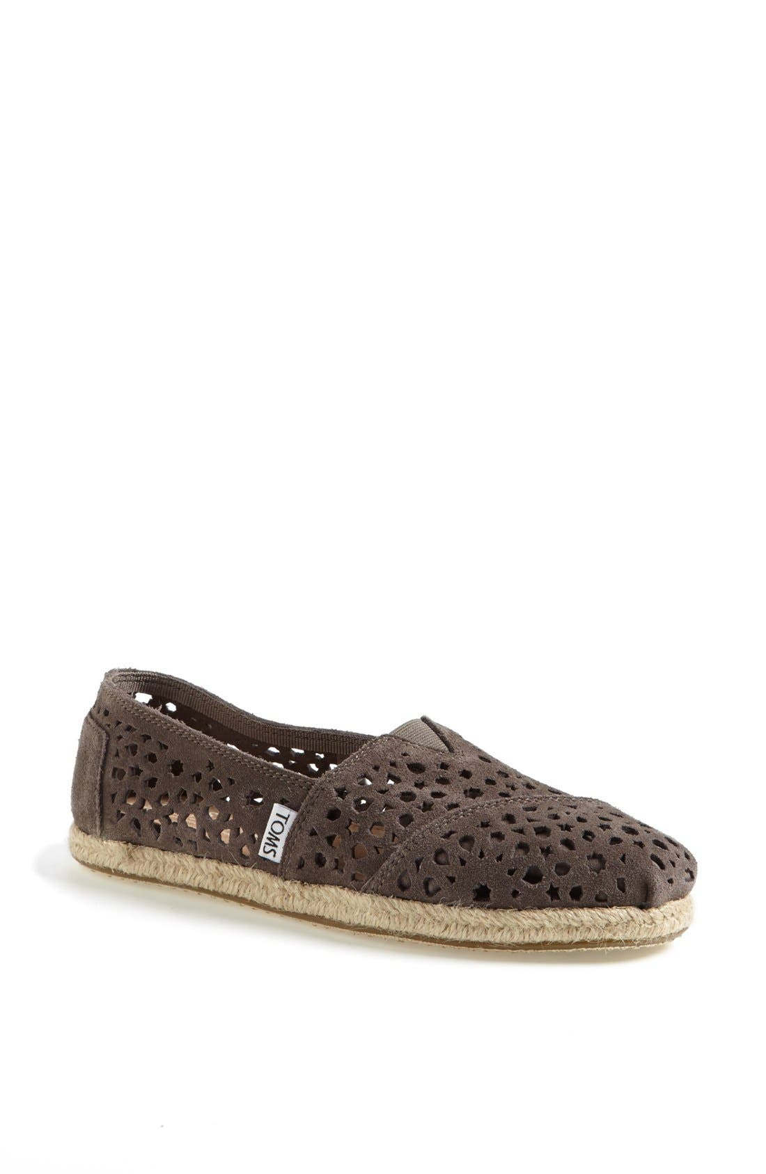 Alternate Image 1 Selected - TOMS 'Classic - Moroccan Cutout' Slip-On (Women)