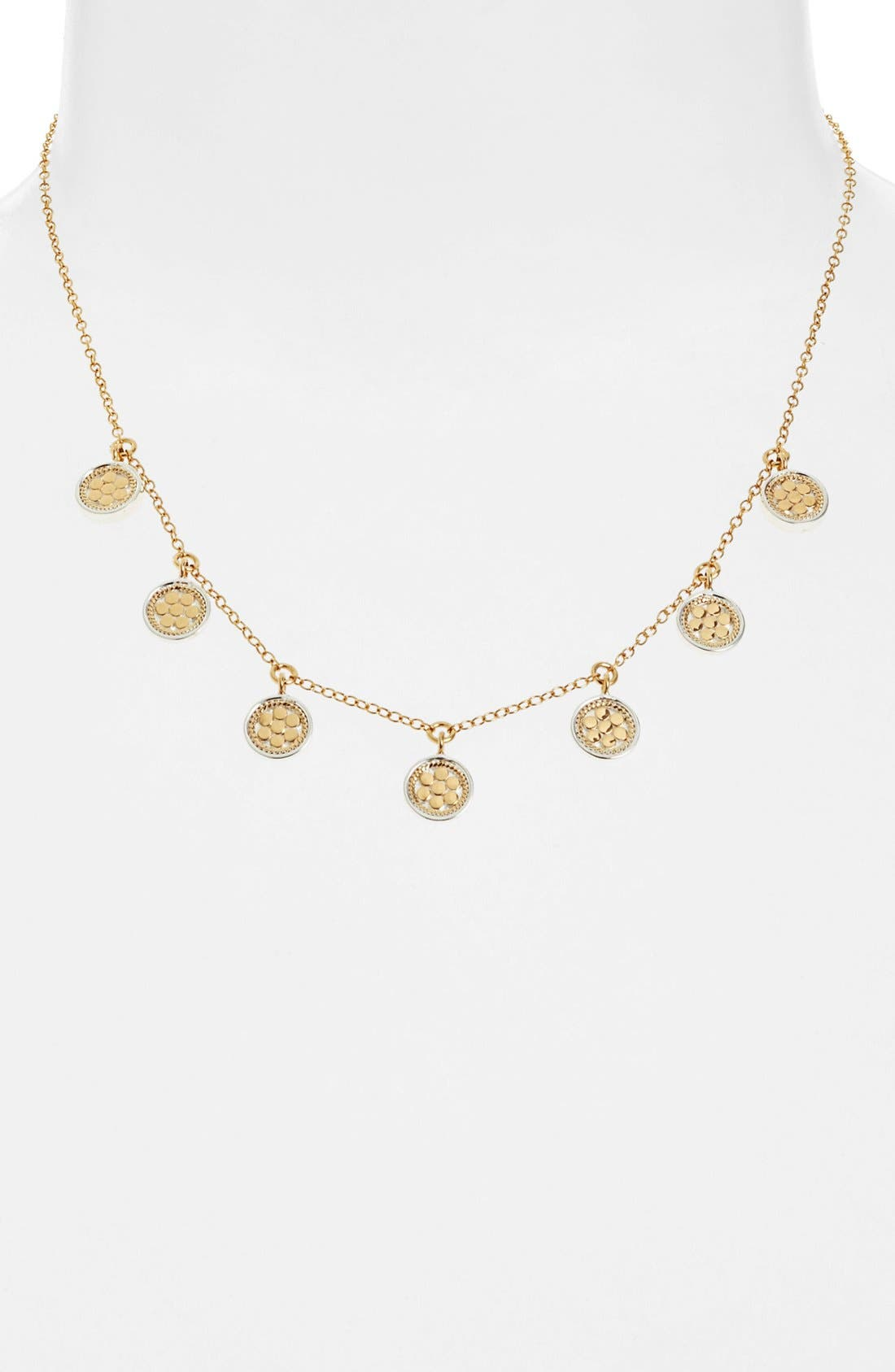 ANNA BECK 'Gili' Charm Necklace