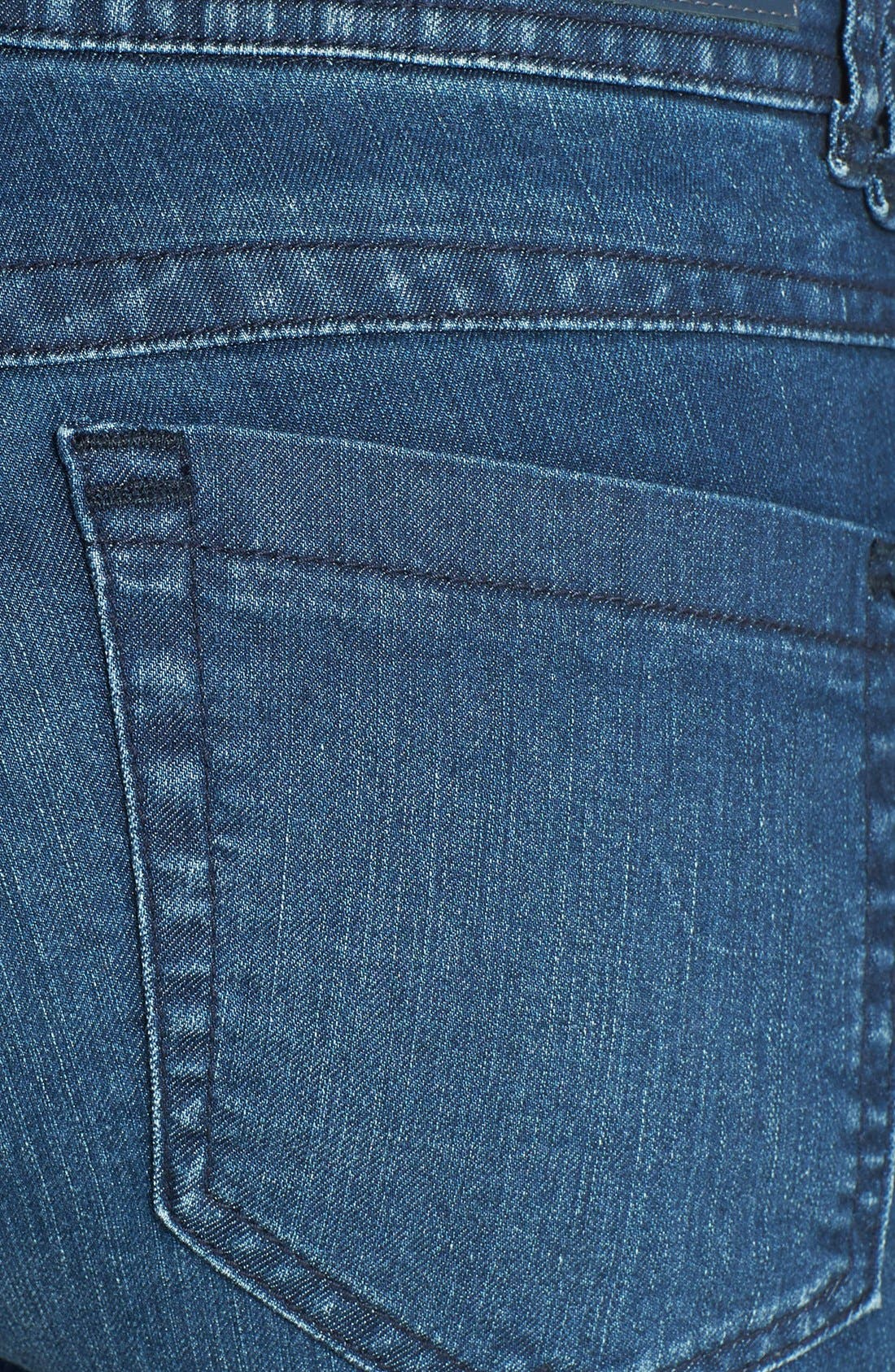 Alternate Image 3  - Wit & Wisdom Stretch Ankle Skinny Jeans (Tencel Indigo) (Nordstrom Exclusive)