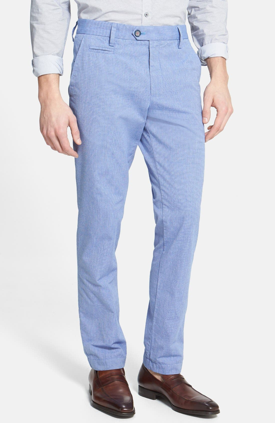 Alternate Image 1 Selected - Ted Baker London 'Mayhim' Slim Fit Chino Trousers