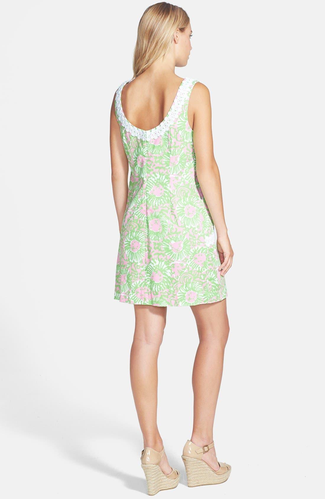 Alternate Image 2  - Lilly Pulitzer® 'Liz' Print Shift Dress