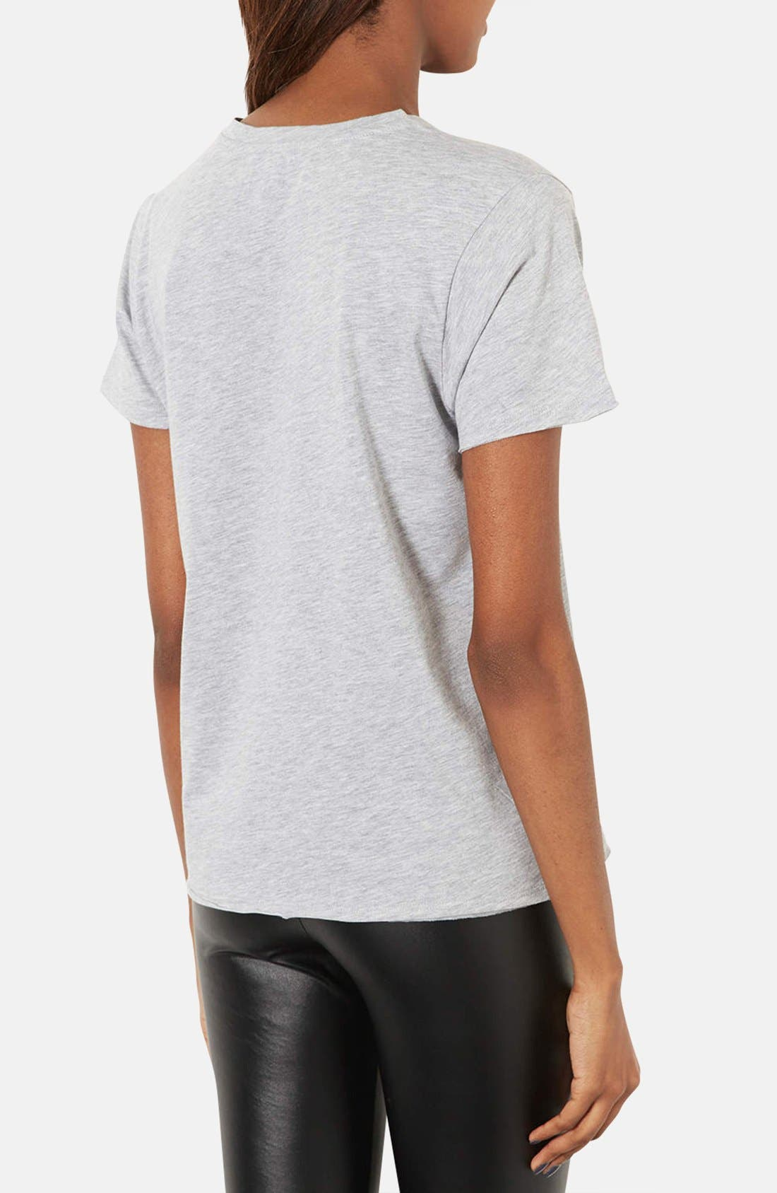 Alternate Image 2  - Topshop 'Controversial' Graphic Tee