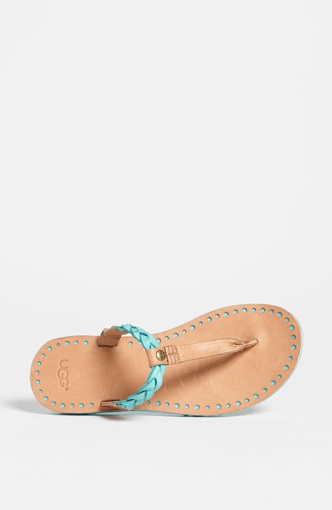 Alternate Image 3  - UGG® Australia 'Bria' Flip Flop (Women)