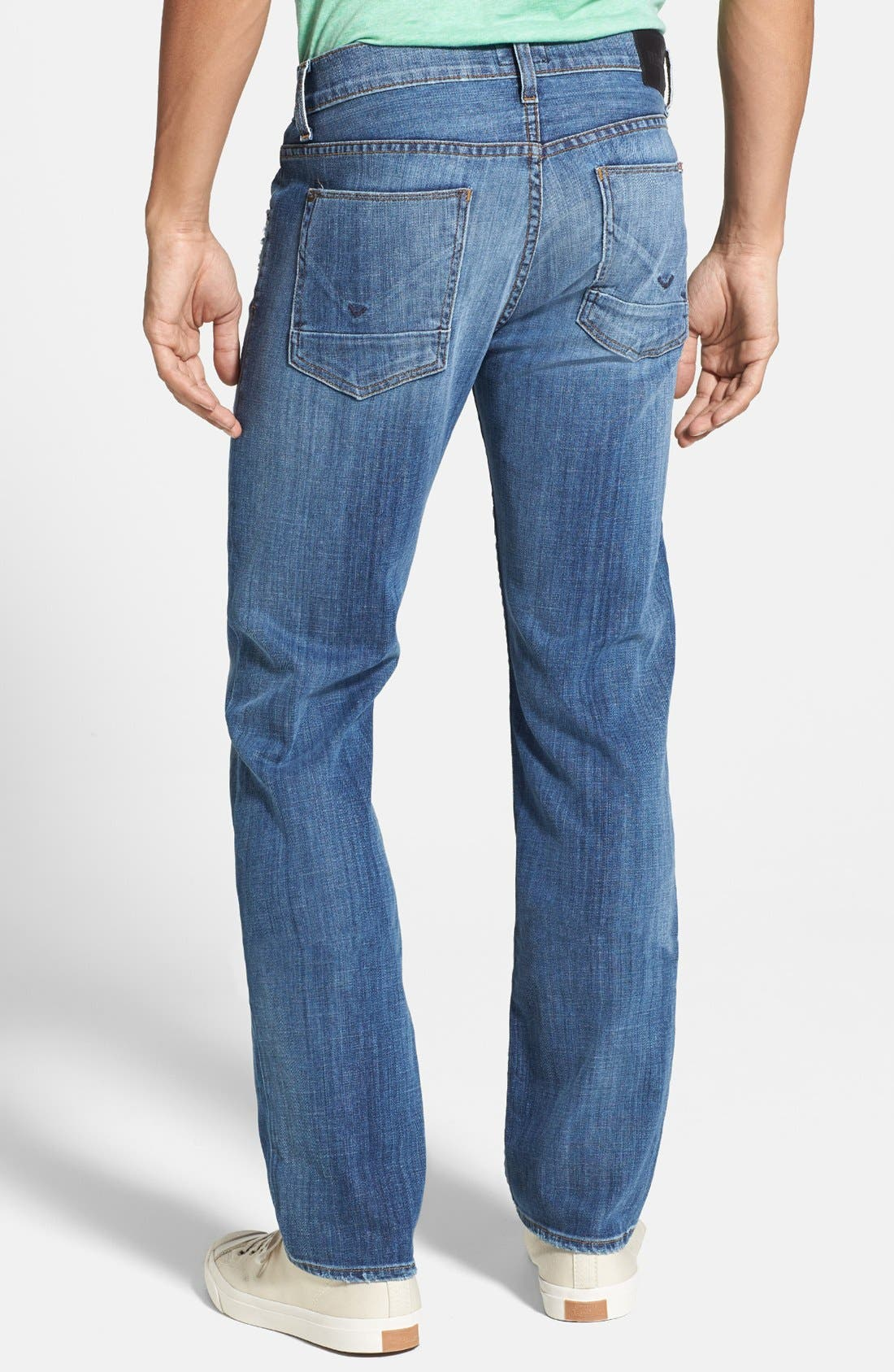 Alternate Image 2  - Hudson Jeans 'Byron' Straight Leg Jeans (Highway)