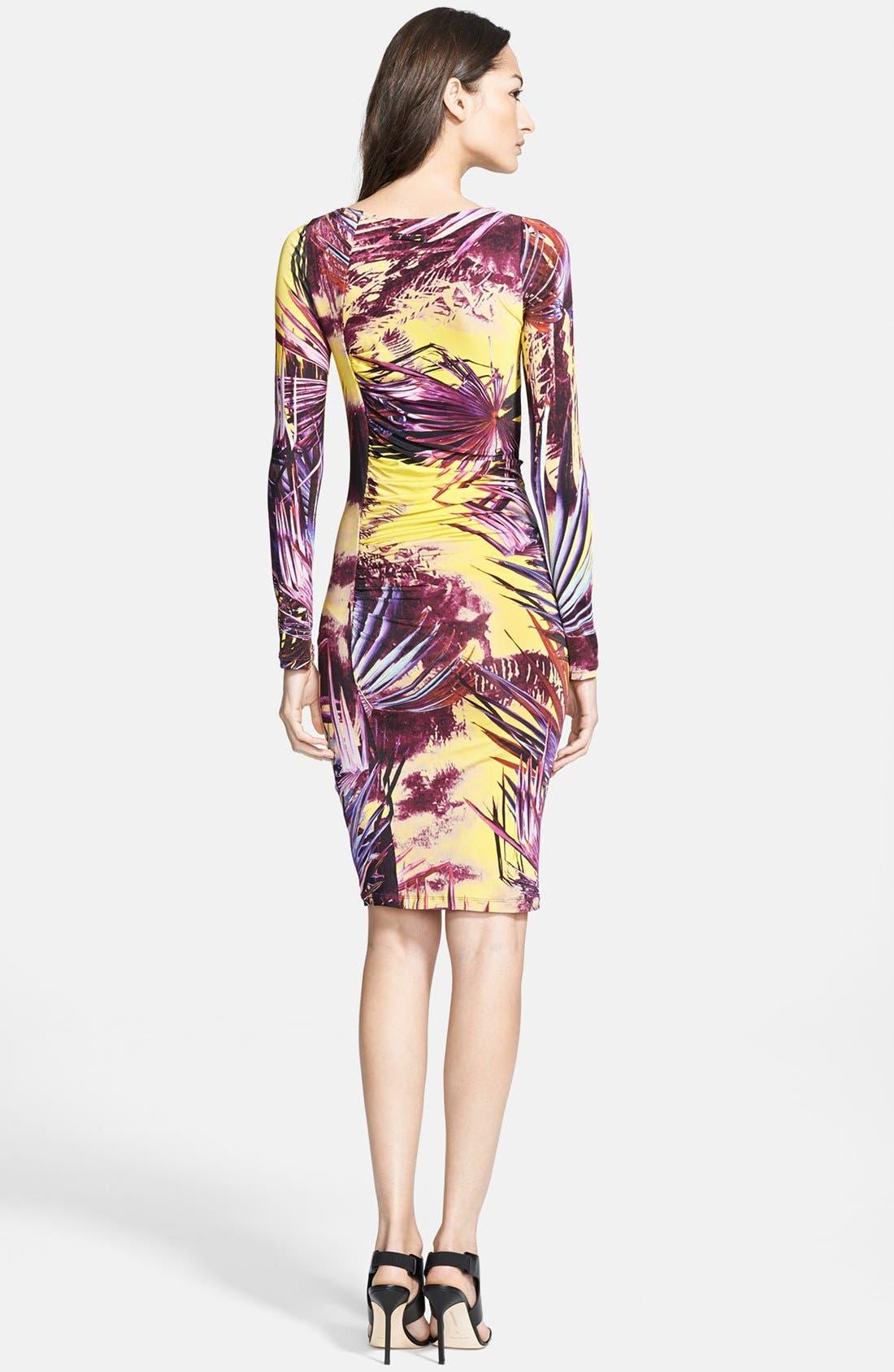 Alternate Image 2  - Jean Paul Gaultier Print Jersey Dress