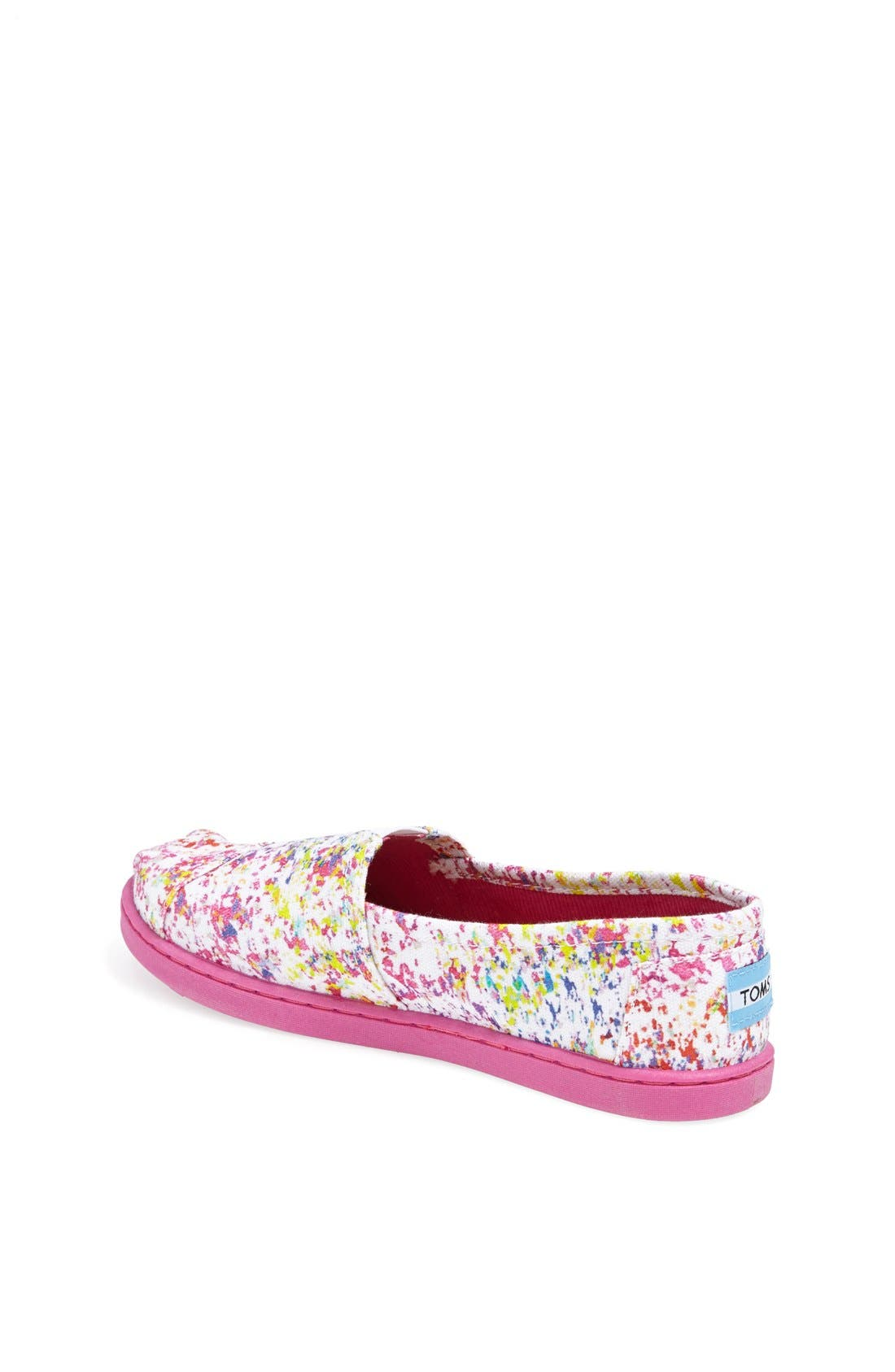 Alternate Image 2  - TOMS CLASSIC YOUTH SLIP ON