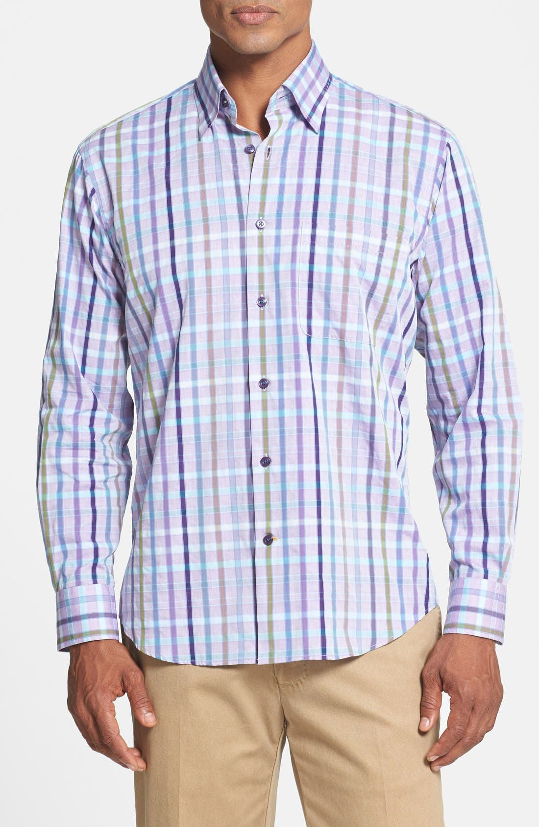 Main Image - Robert Talbott Woven Sport Shirt