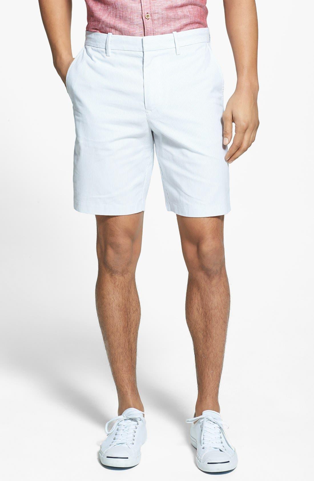 Alternate Image 1 Selected - Original Penguin Tailored Stripe Trouser Shorts