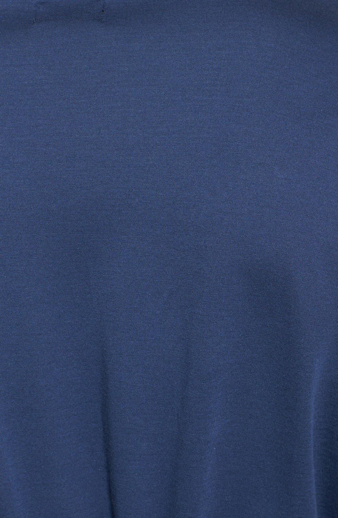 Alternate Image 3  - BOSS HUGO BOSS Cotton Blend Robe